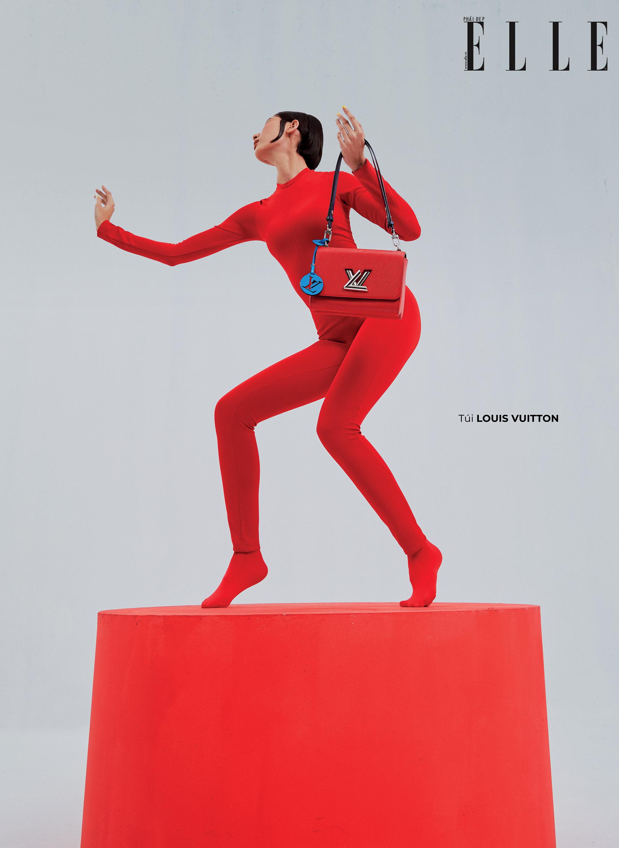 bộ ảnh thời trang túi xách Louis Vuitton