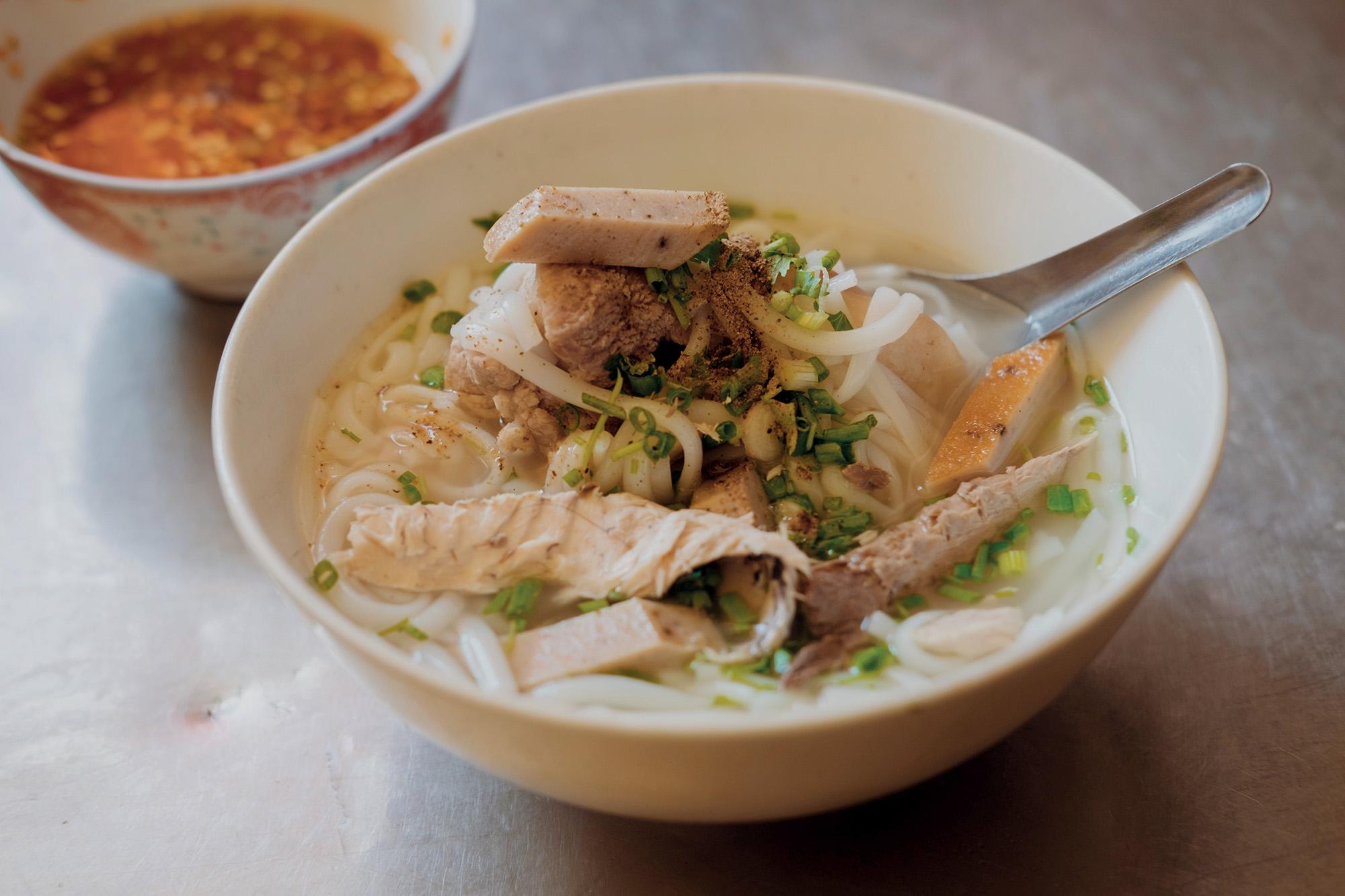 Ninh Thuận bánh canh cá
