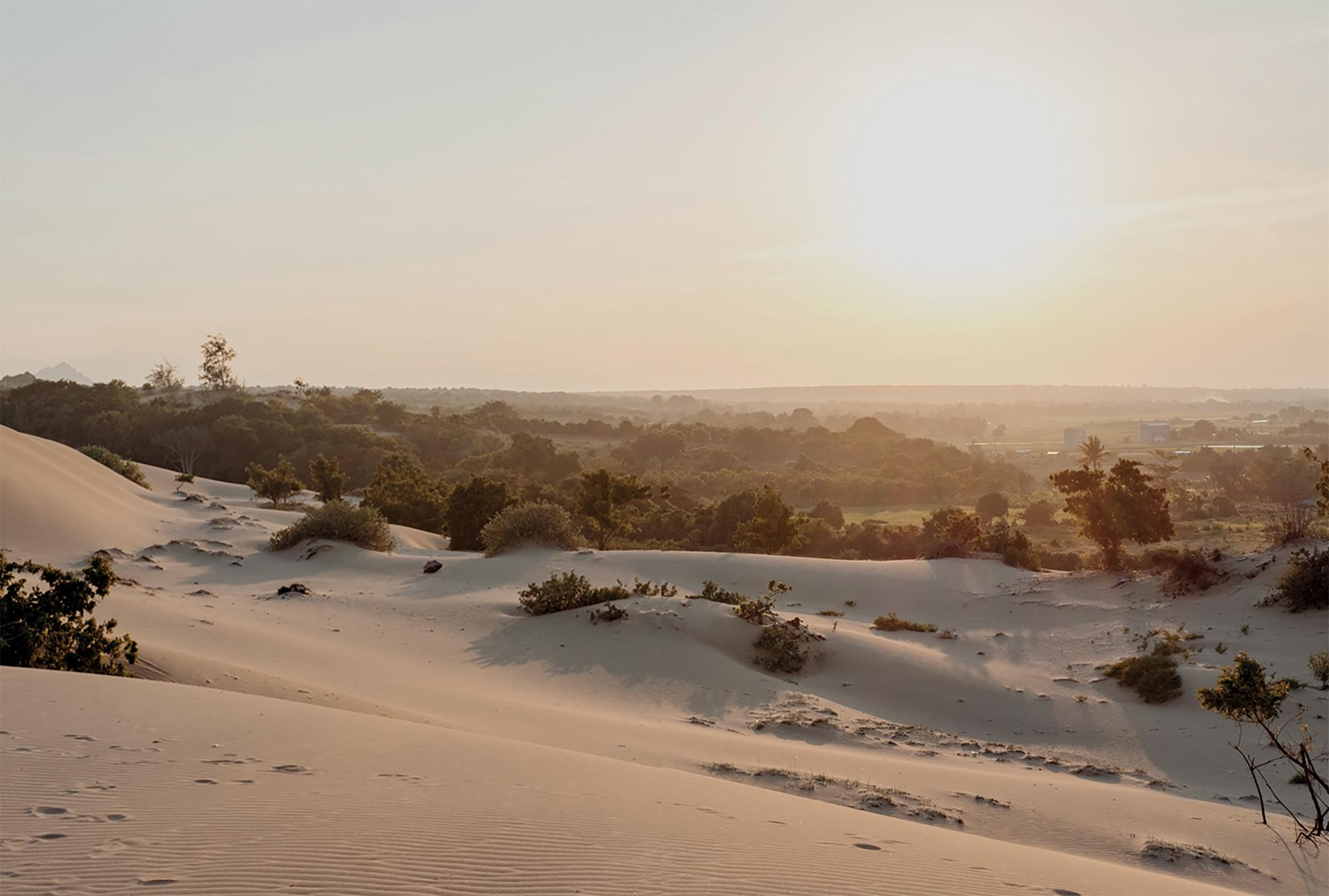 Ninh Thuận khí hậu bán sa mạc