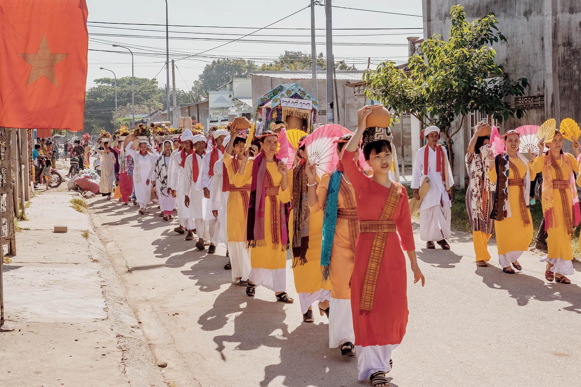Ninh Thuận người dân trong lễ hội Kate