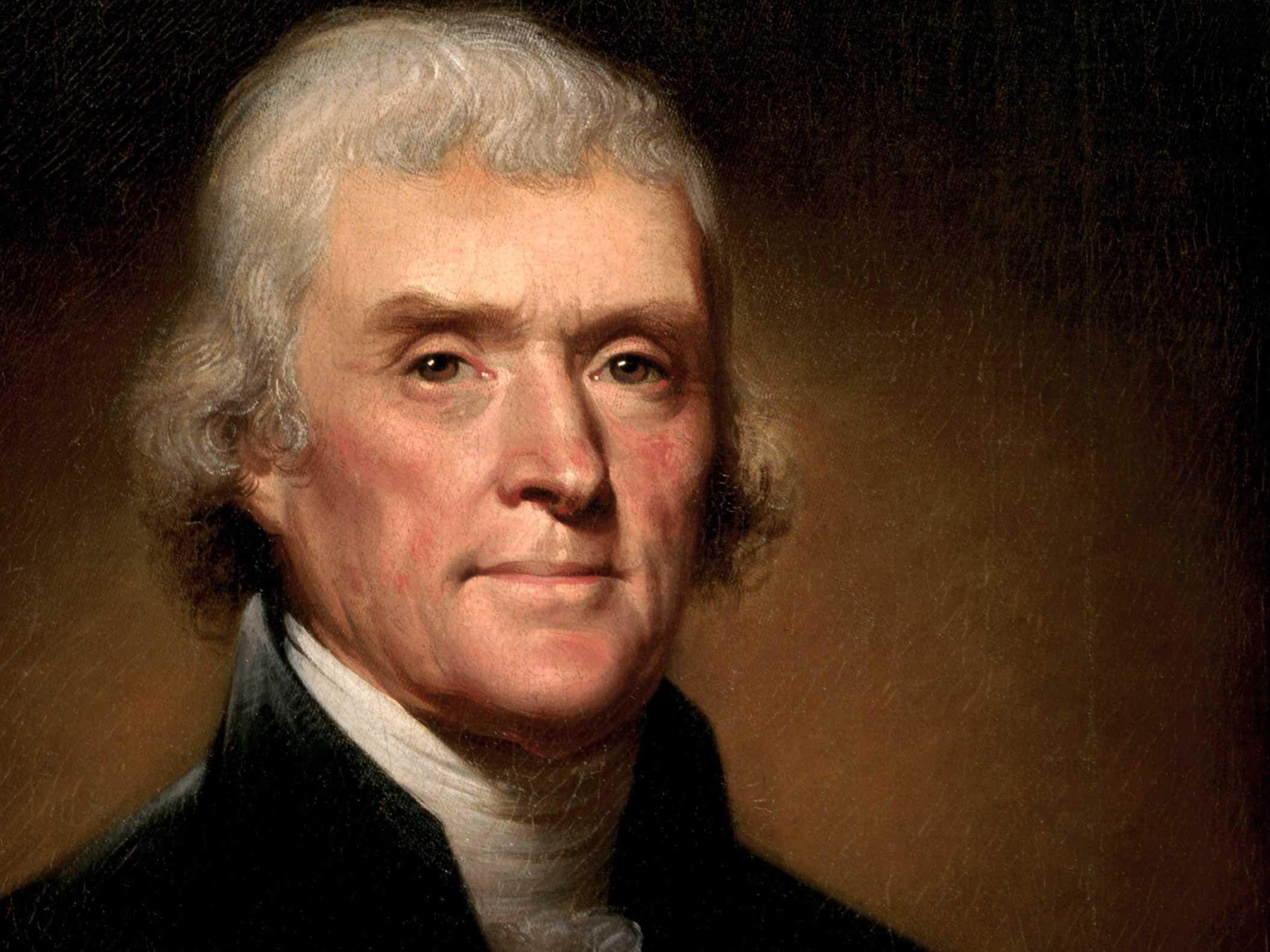 thiên tài tổng thống Thomas Jefferson
