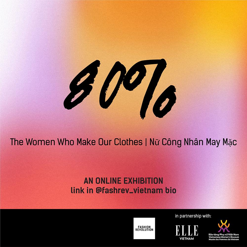 tin thời trang triển lãm trực tuyến 80 fashion revolution