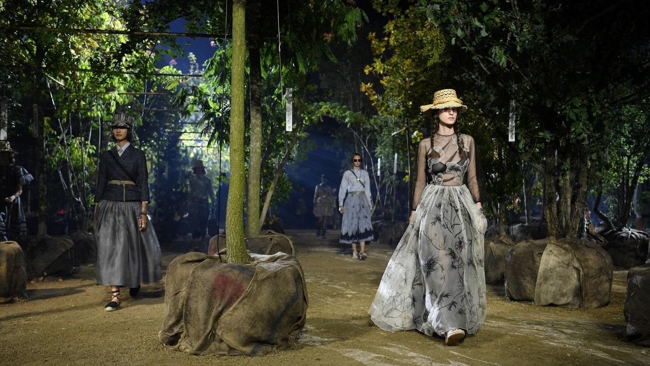 thời trang bền vững bst dior xuân hè 2020
