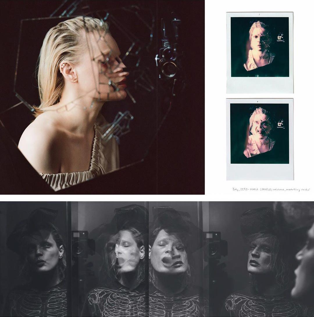 bộ ảnh chụp tại nhà cho tạp chí của guinevere van seenus