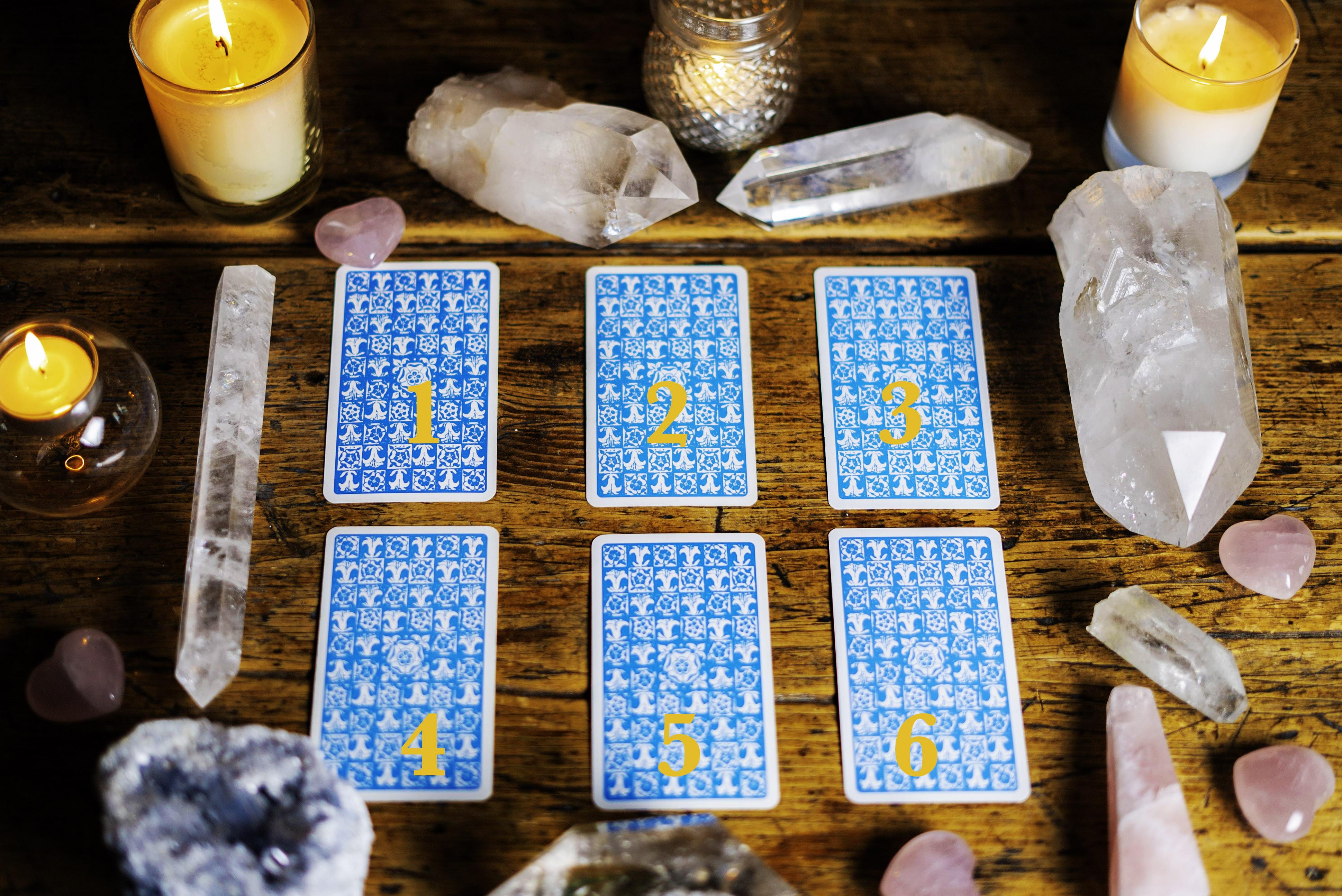 trắc nghiệm trực giác lá bài yêu thích