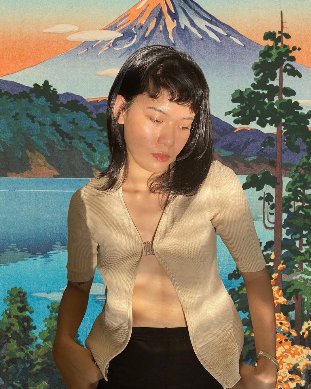 bí quyết chụp ảnh tại nhà của fashionista dien70s phông nền hoạt hình