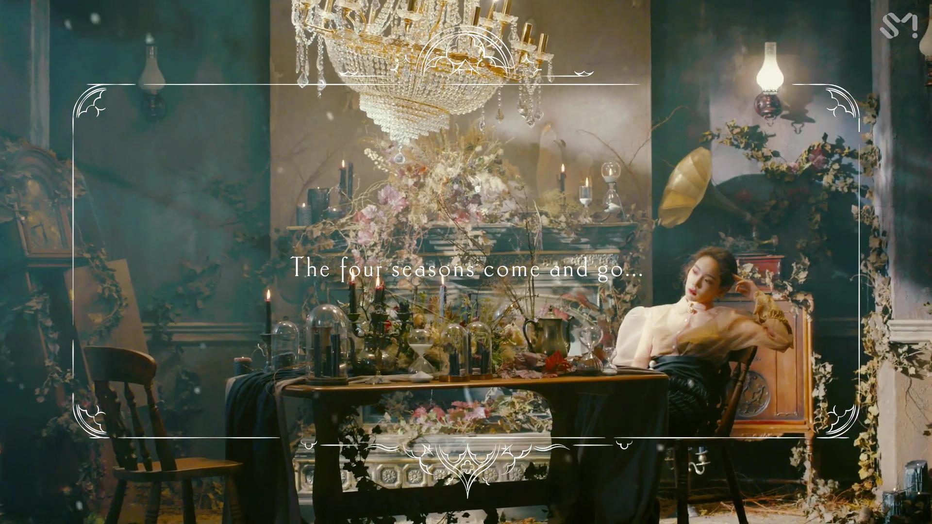 Ca sĩ Taeyeon trong MV Four Seasons