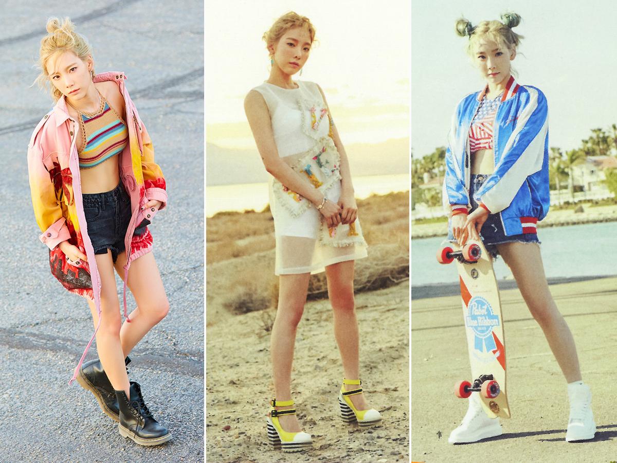Thời trang của ca sĩ Taeyeon trong MV Why