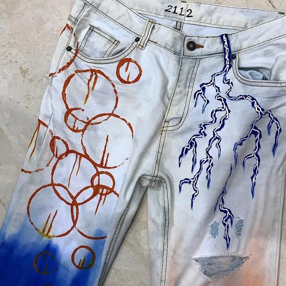 converse thử thách create at home nhuộm quần jeans tại nhà