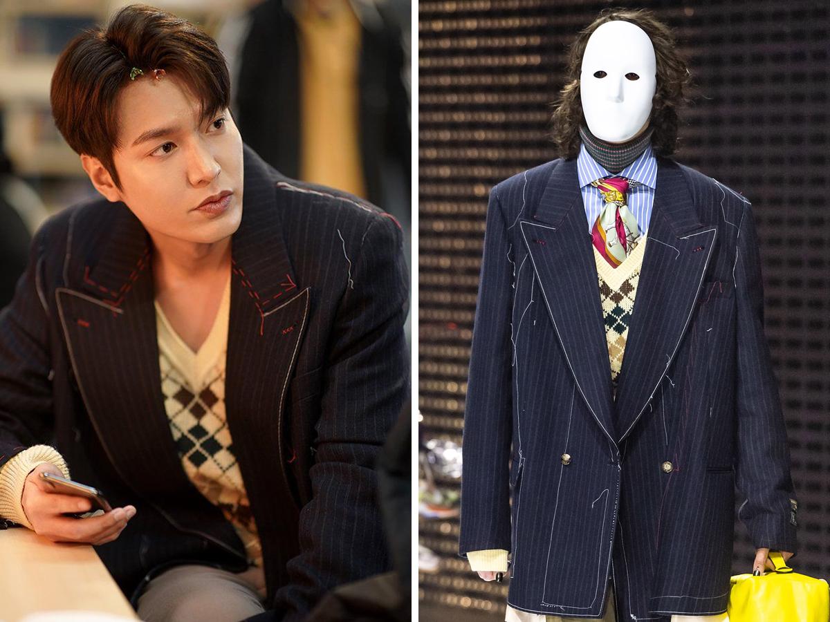Lee Min Ho mặc áo blazer Gucci trong phim Quân Vương Bất Diệt