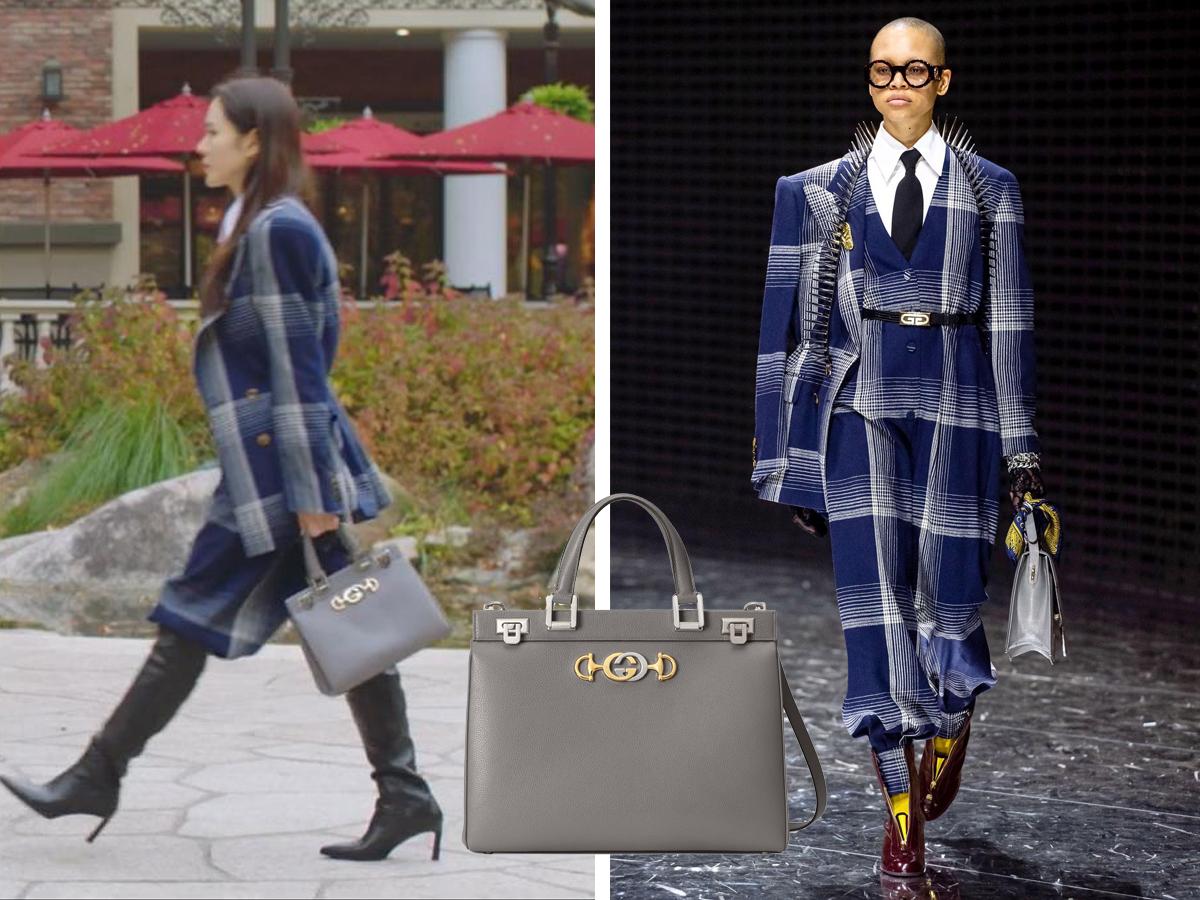 Son Yejin diện đồ Gucci trong phim Hạ Cánh Nơi Anh