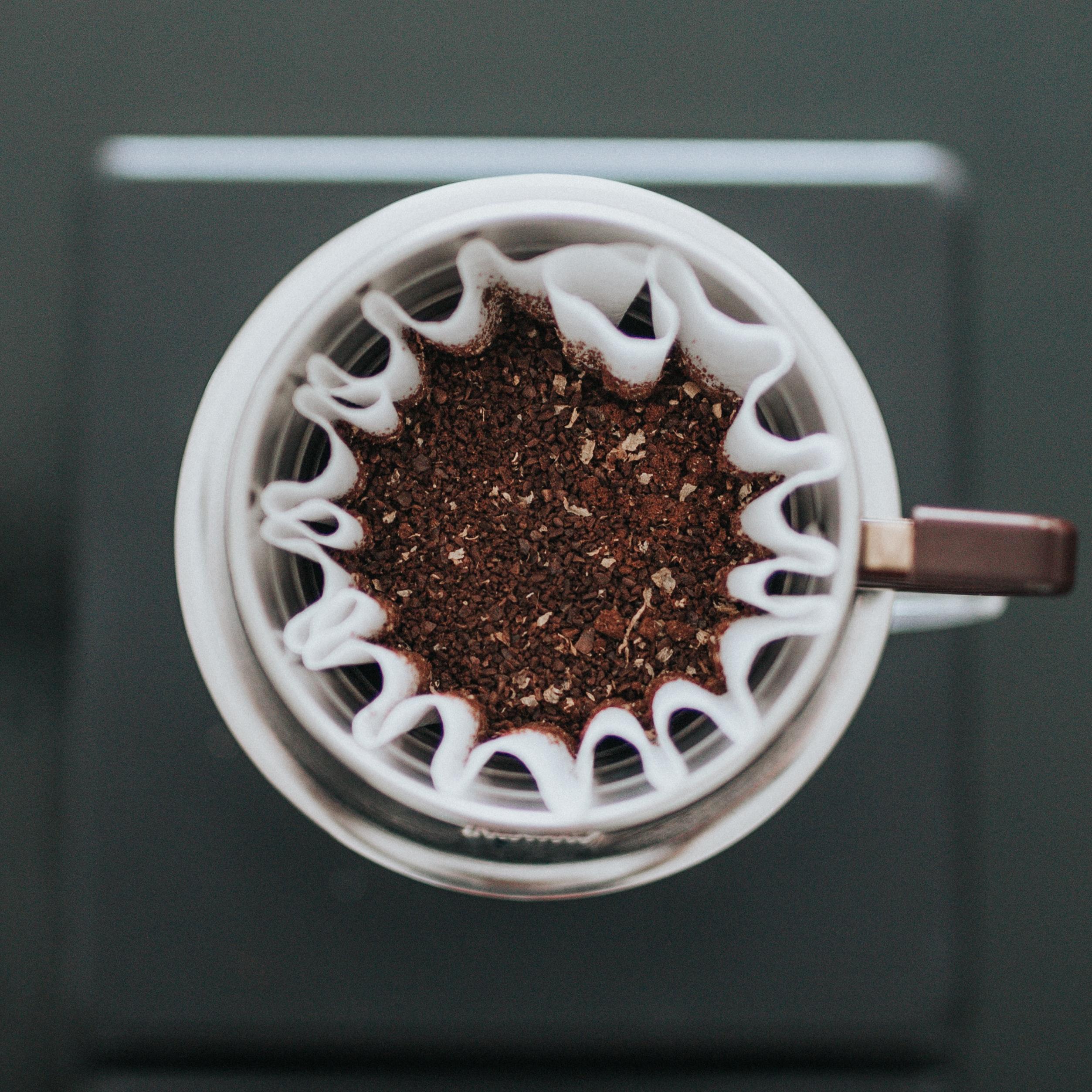 tận dụng bã cà phê