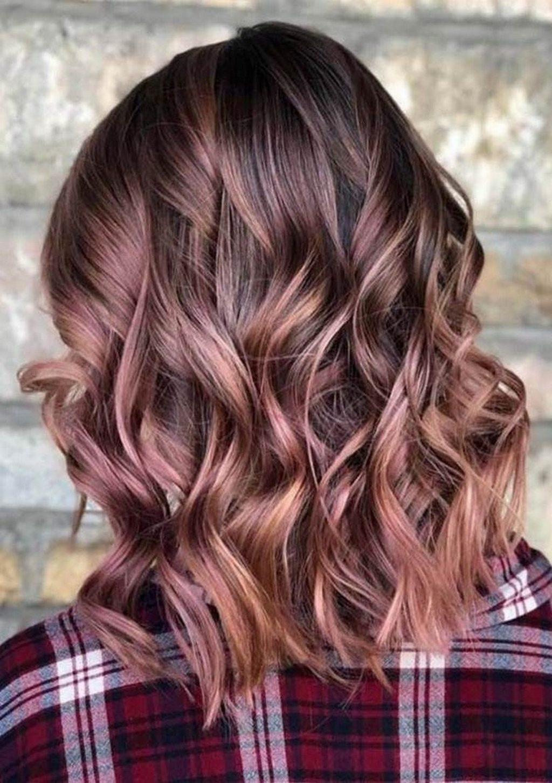 Rose brown - nâu ánh hồng, màu tóc nâu tuyệt vời dành tặng những tín đồ màu hồng.