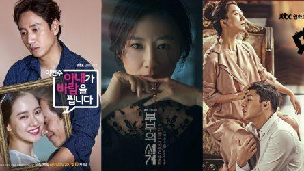 9 tựa phim ngoại tình Hàn Quốc nói về mặt trái của thế giới hôn nhân
