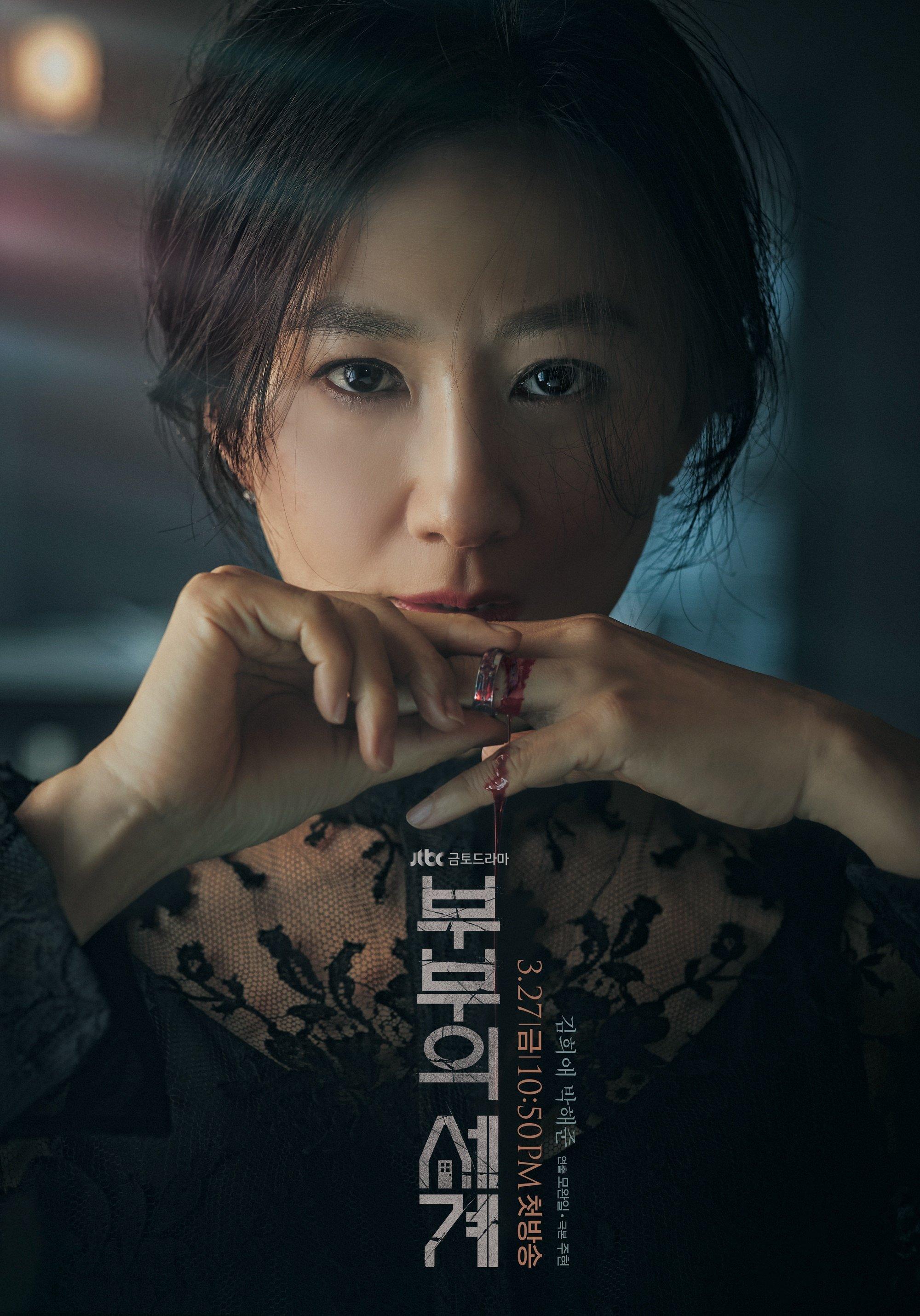 Kim Hee Ae trong phim Thế giới hôn nhân