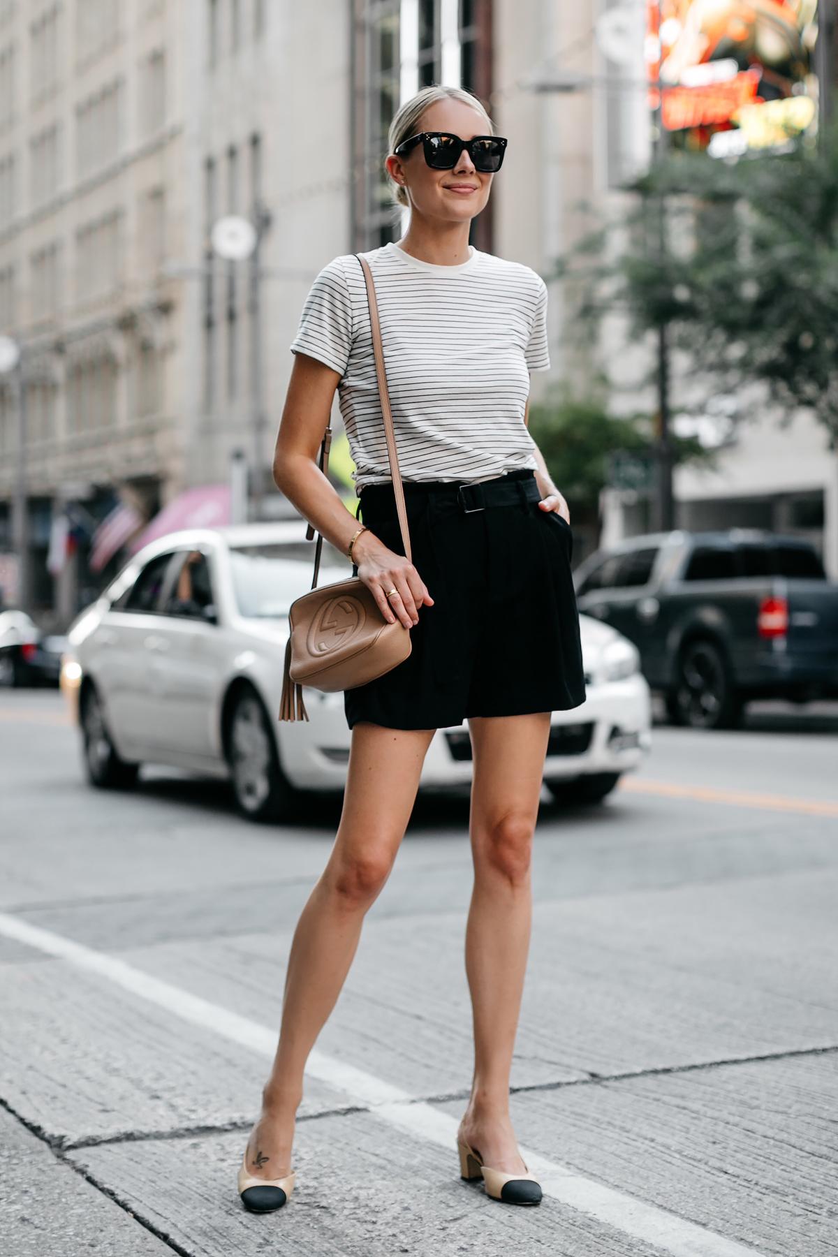 quần shorts nữ cạp cao đen thắt lưng fashion jackson