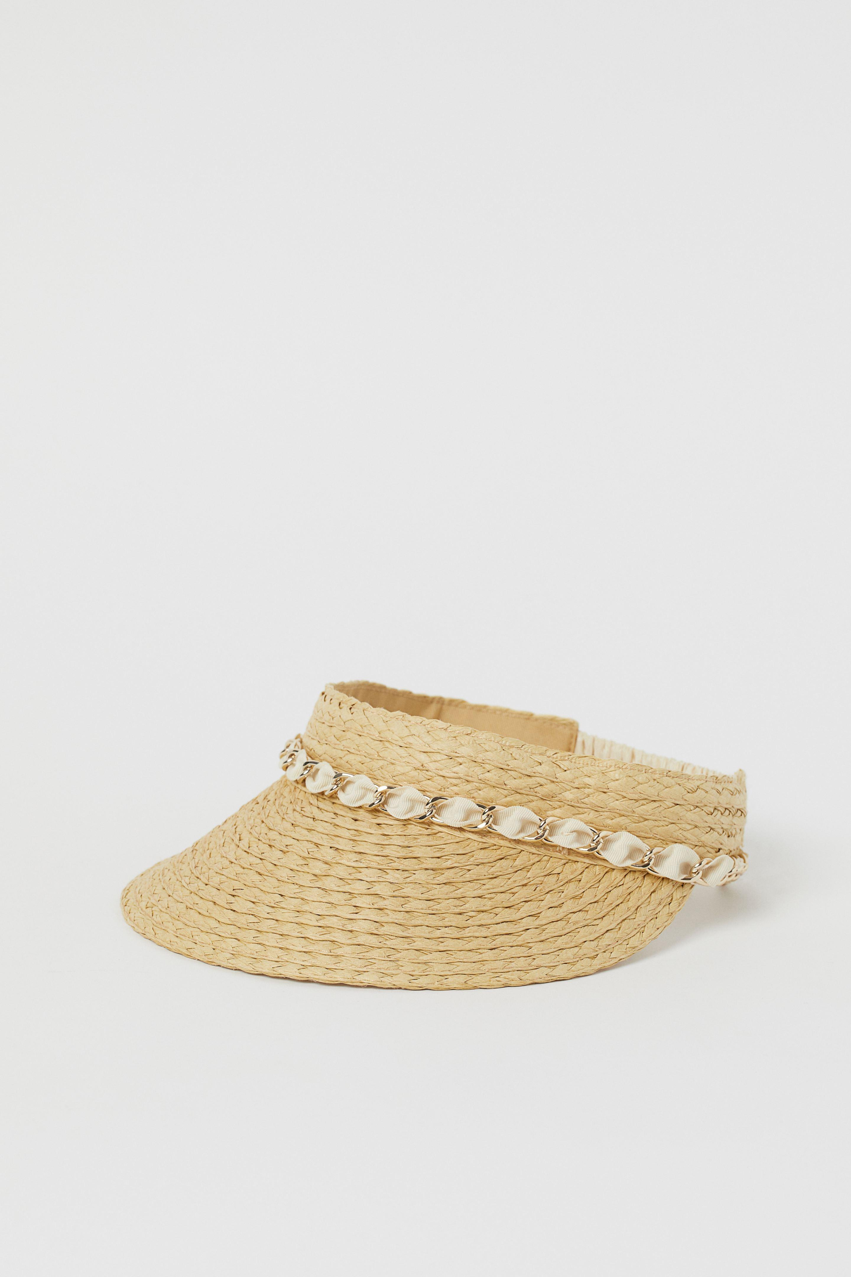 Mũ cói visor mùa Hè H&M
