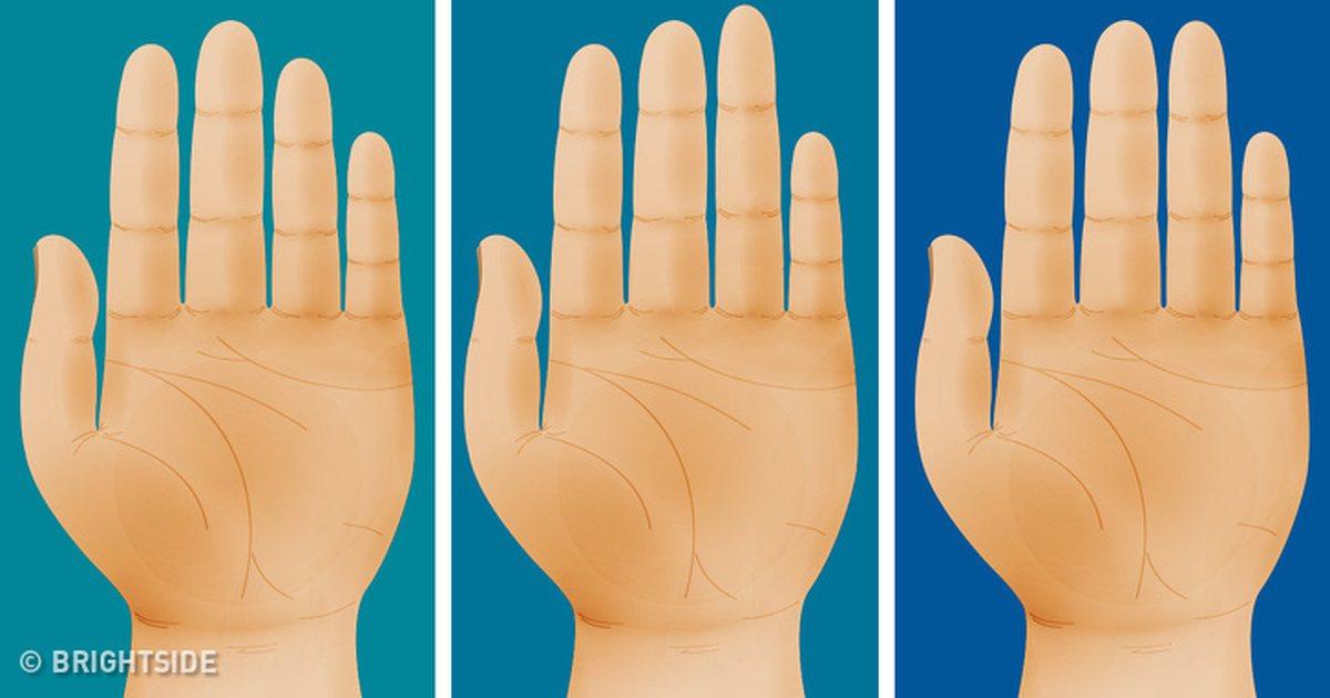 trắc nghiệm đoán tính cách qua ngón tay
