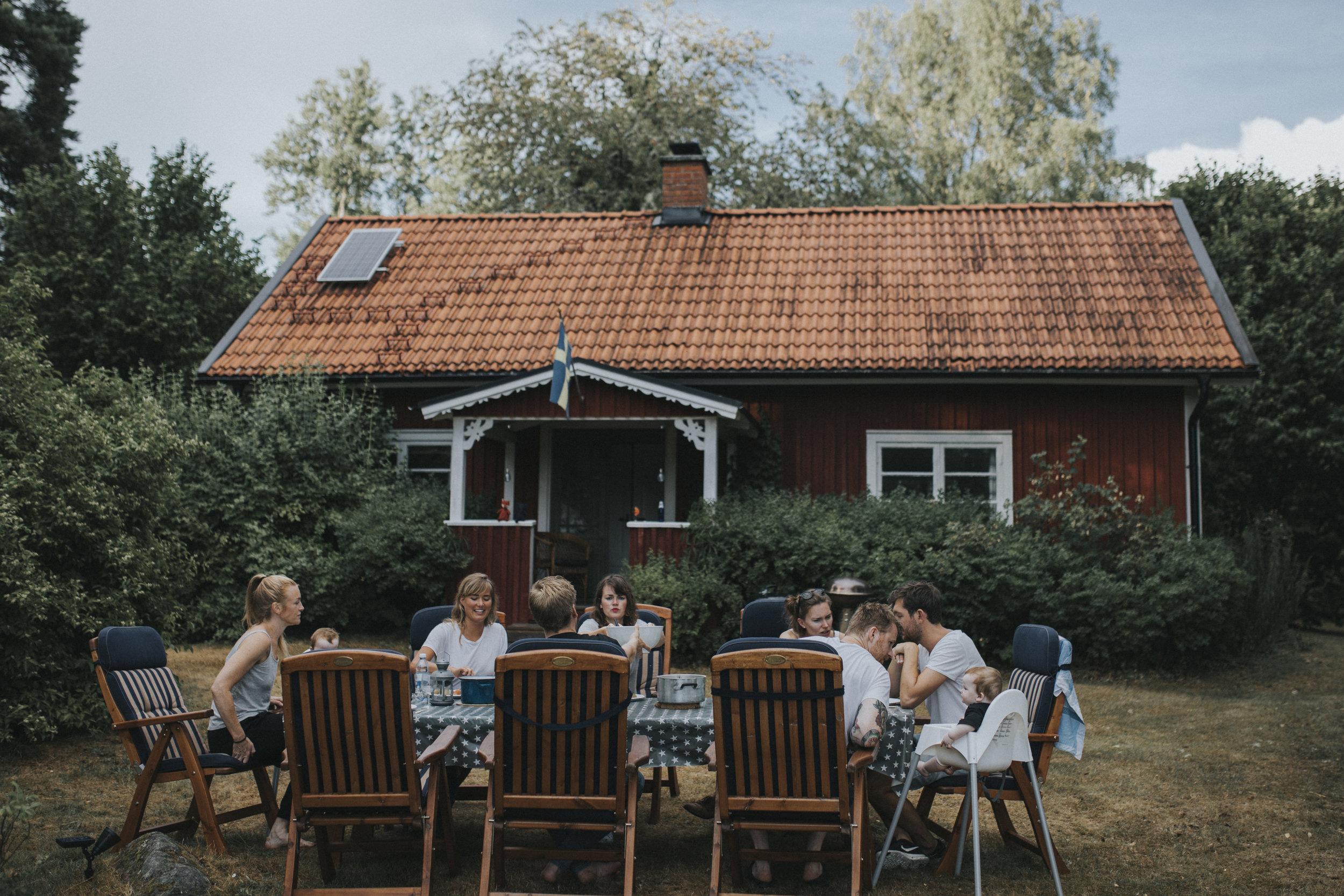 ngôi nhà mùa hè Thụy Điển