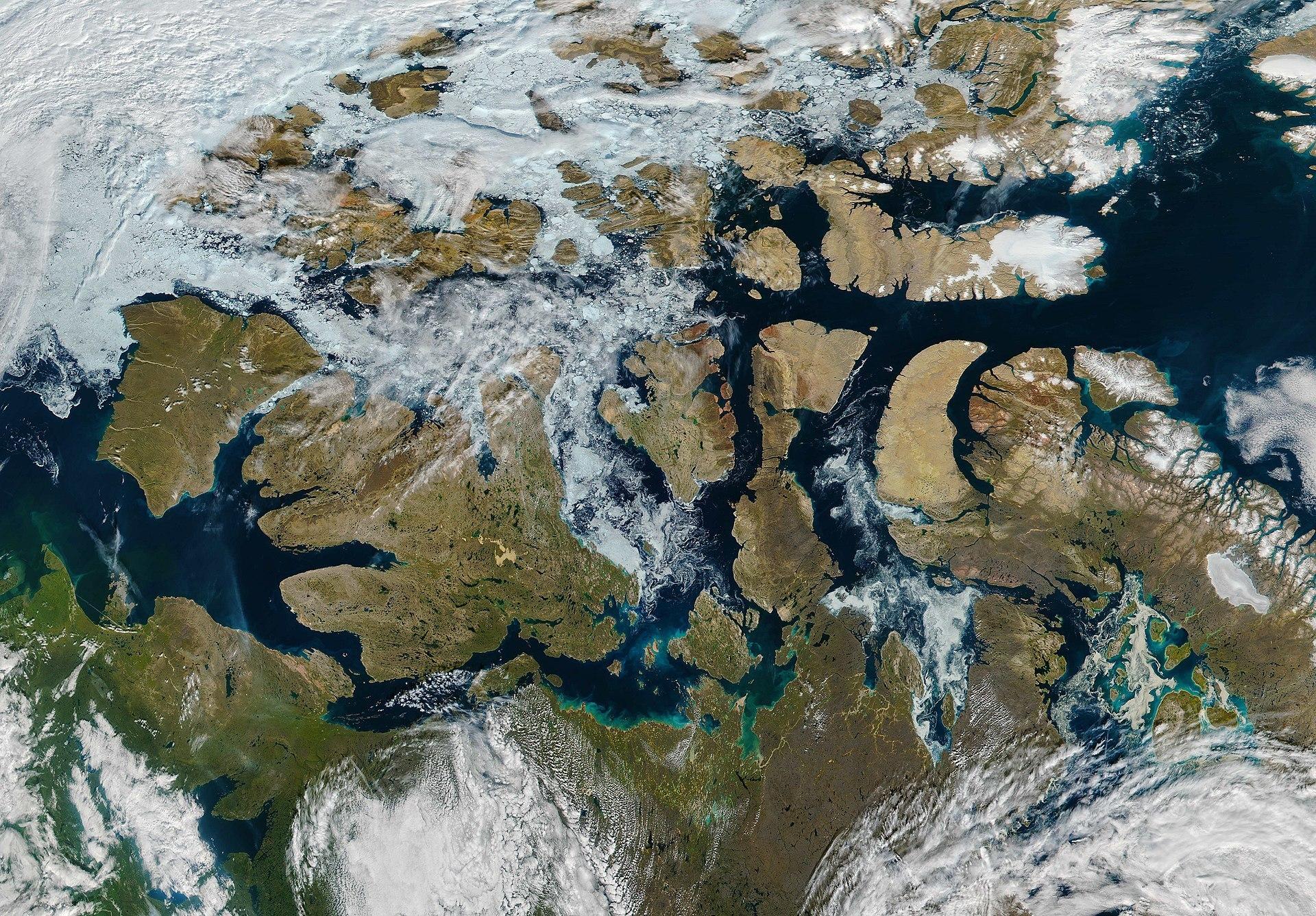 Hiện tượng băng tan ở hành lang Tây Bắc