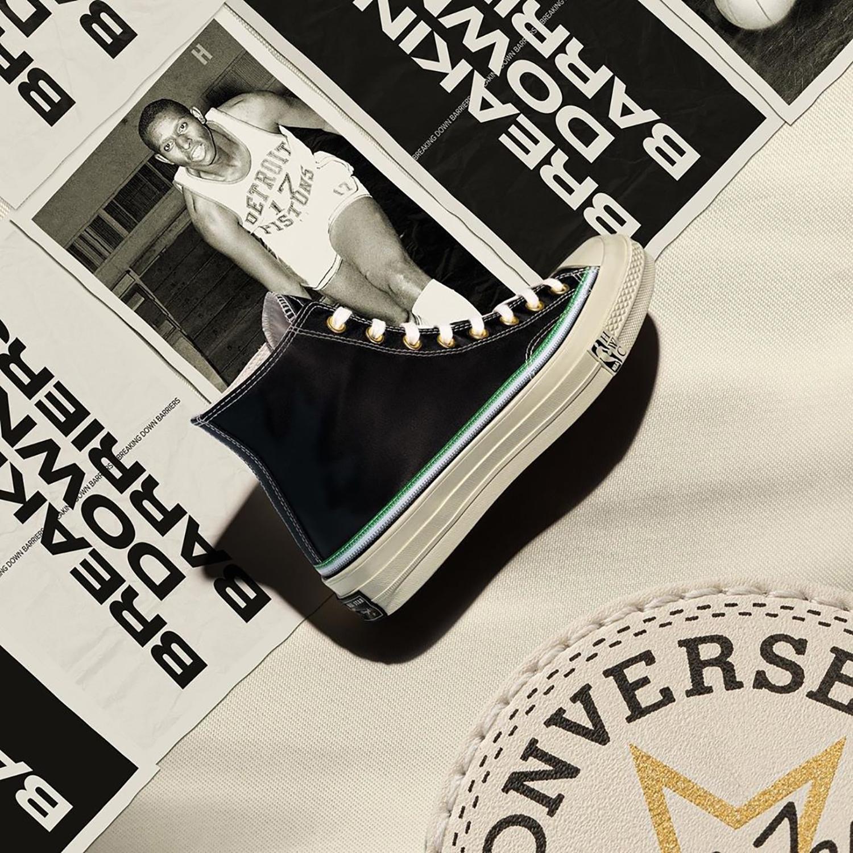 Converse Chuck 70 NBA trắng đen trong dàn incubate tại việt nam