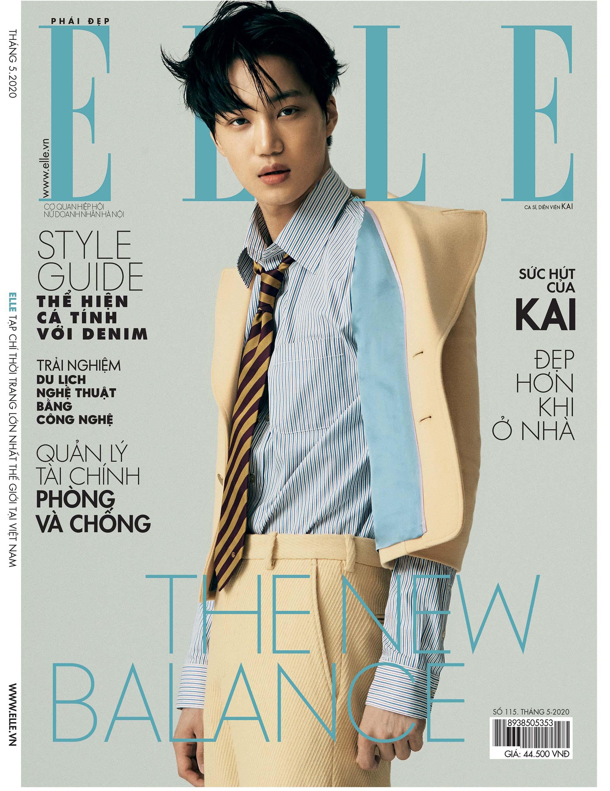 Tạp chí Phái đẹp ELLE gương mặt trang bìa