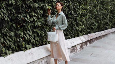 4 cách mặc đẹp với chân váy suông cho mọi dáng người