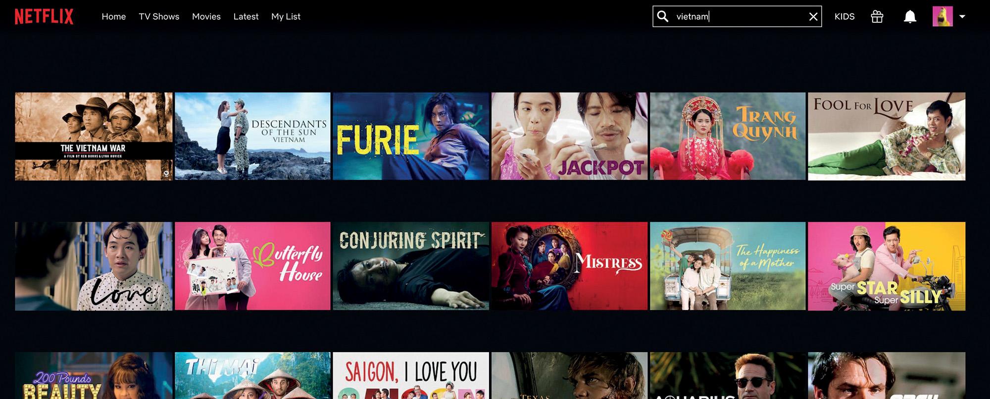 xem phim trên ứng dụng netflix