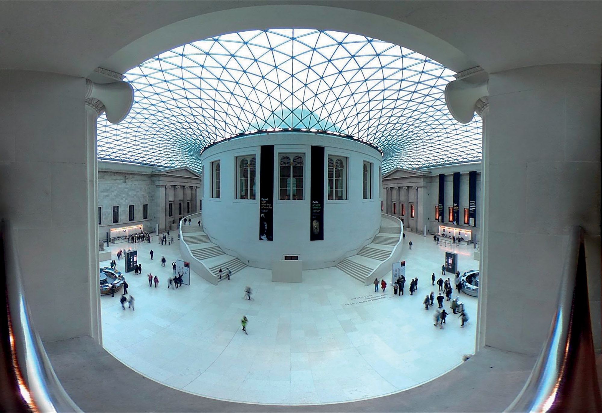 virtual tour bảo tàng tại Anh