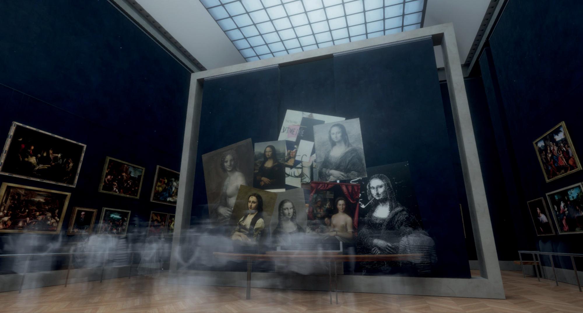 virtual tour tác phẩm nàng Mona Lisa