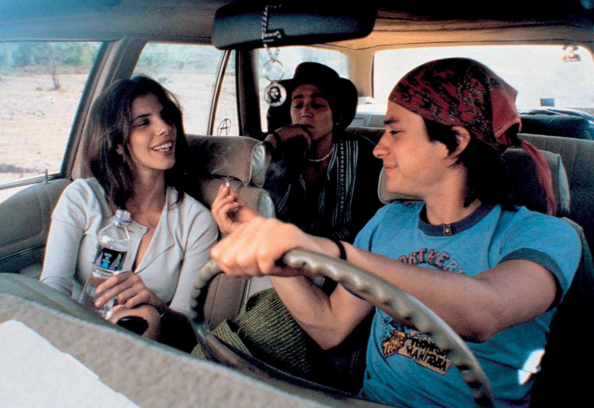 du lịch cảnh phim trong xe hơi