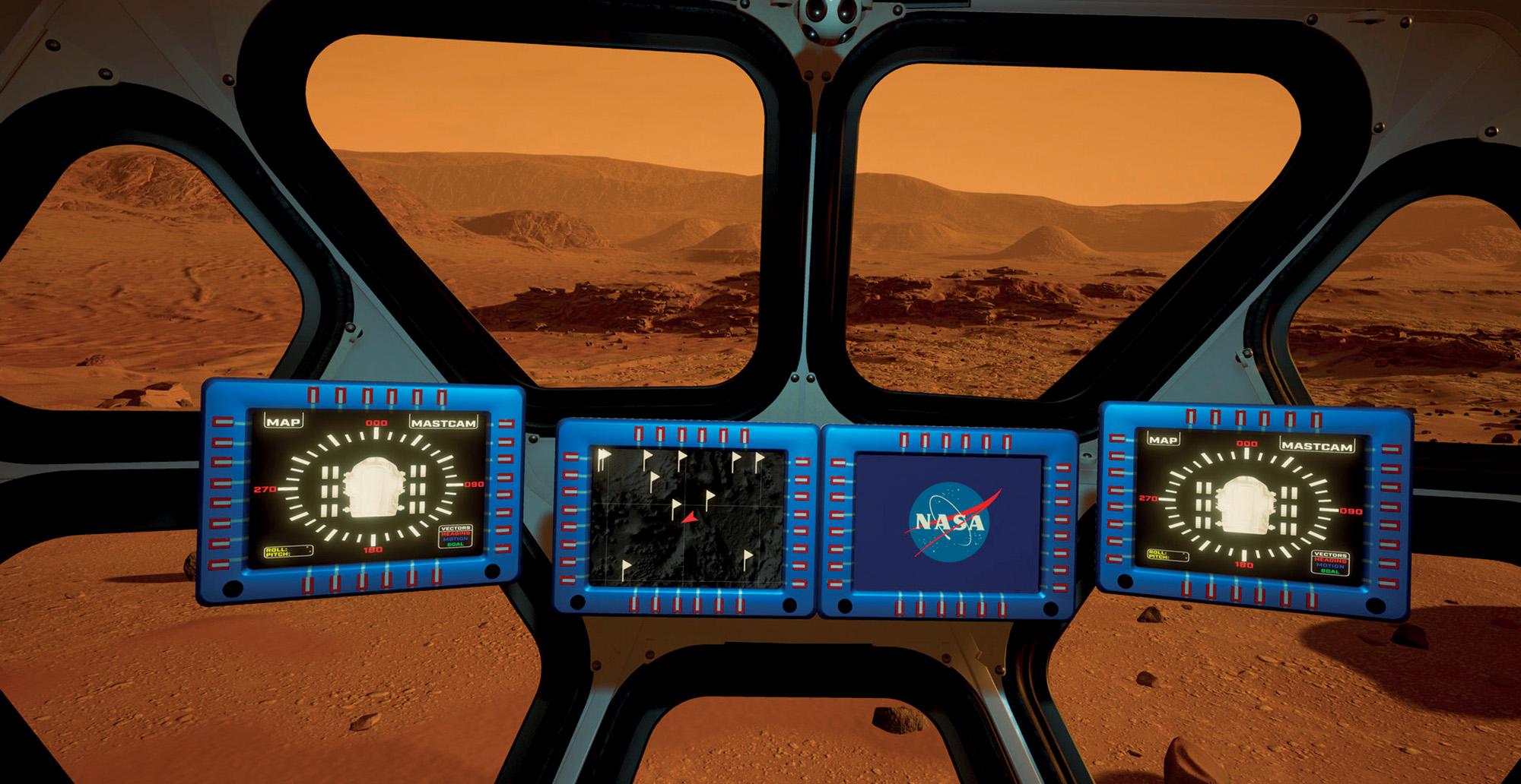 du lịch không gian NASA