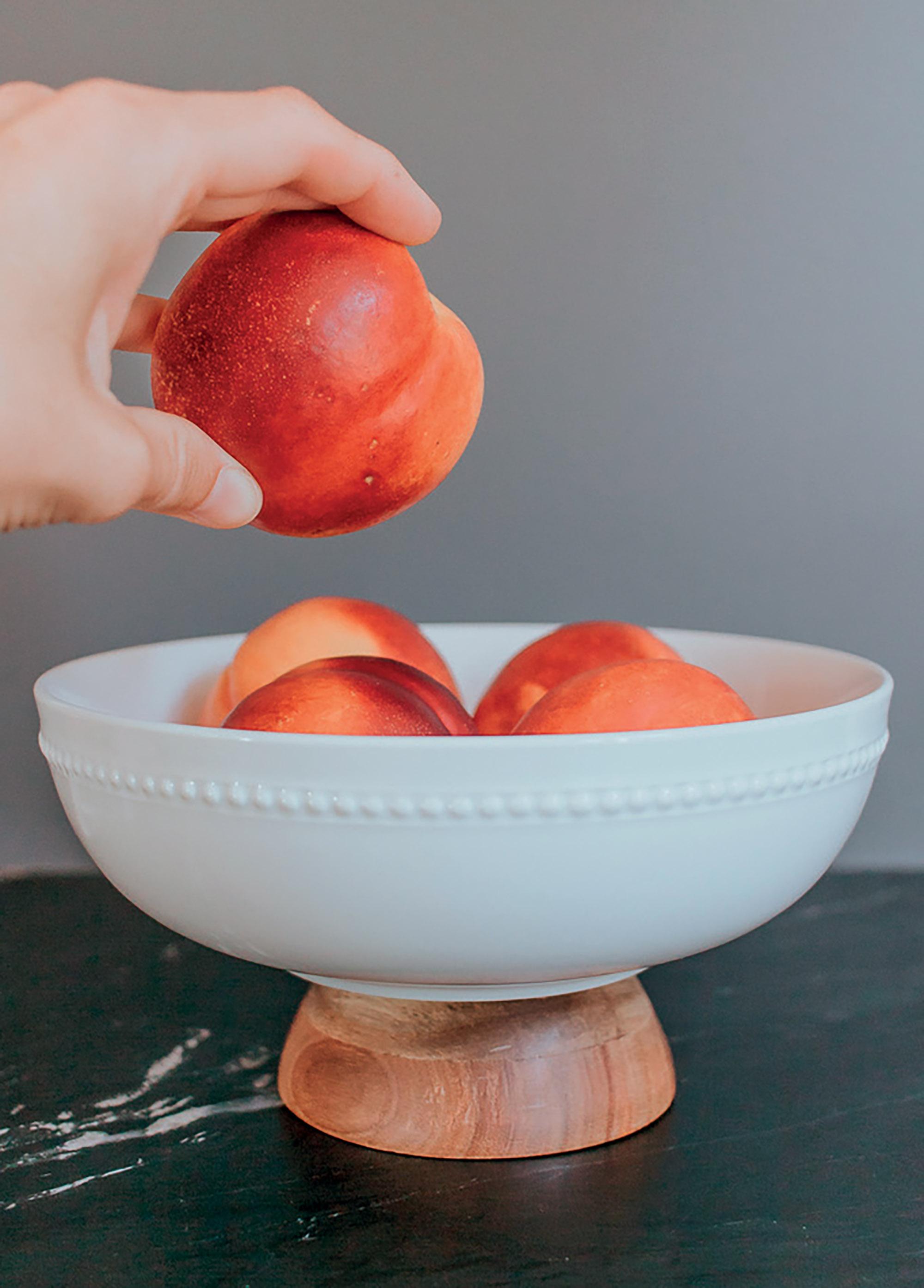 món đồ DIY tô đựng trái cây