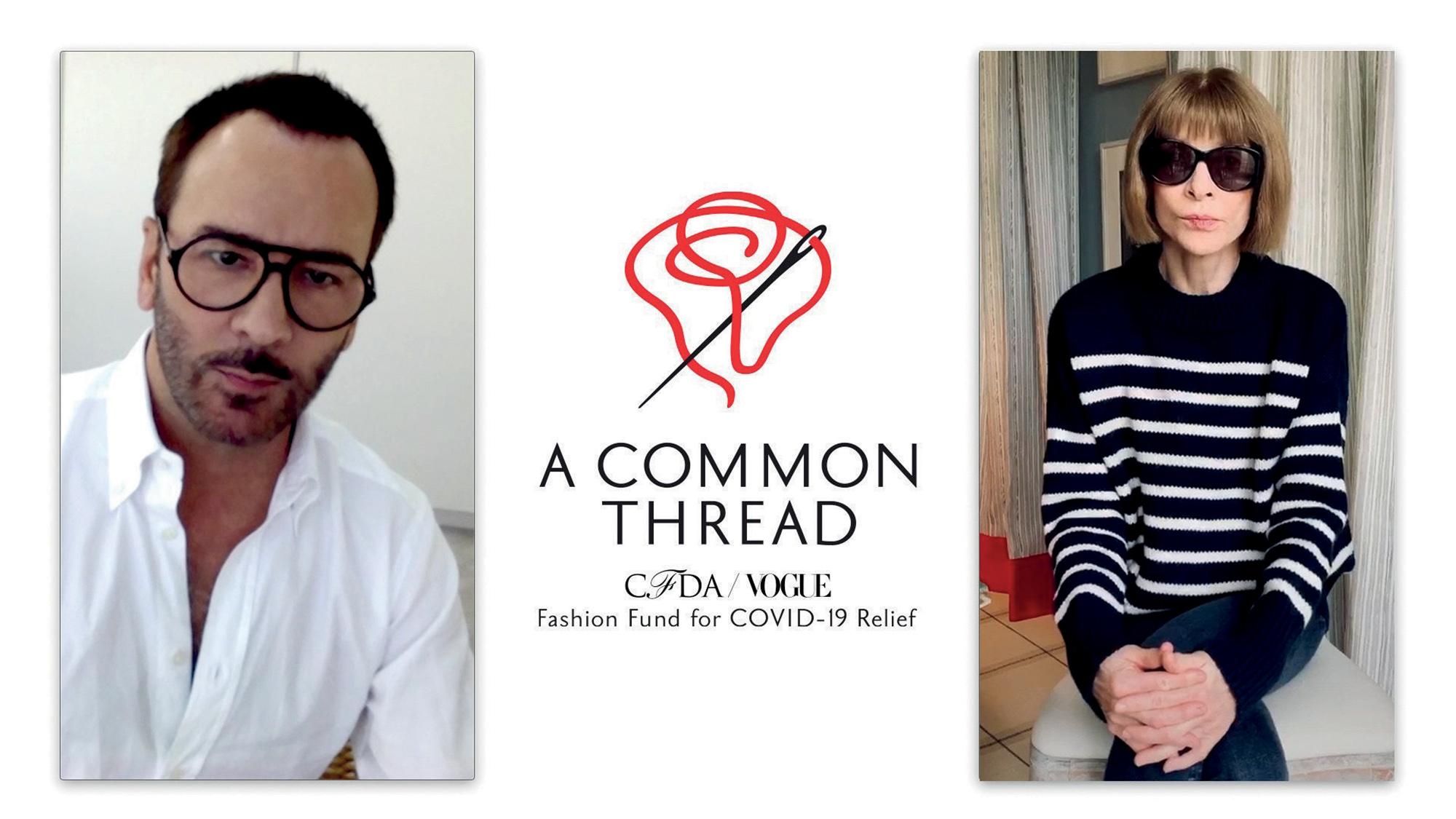 tin thời trang trong mùa COVID-19 quỹ A Common Thread