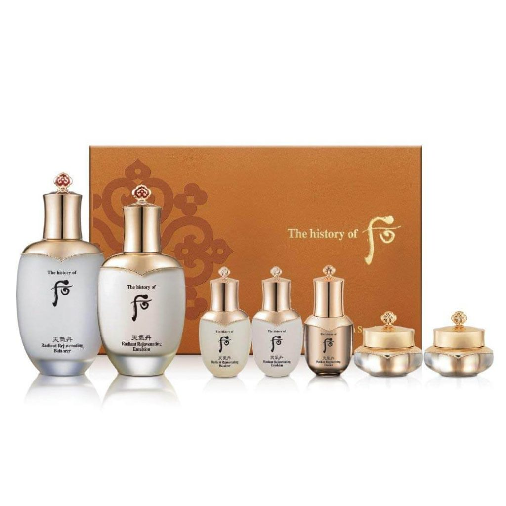 Whoo Cheongidan Radiant Regenerating -Sản phẩm dưỡng da, quà tặng mẹ.