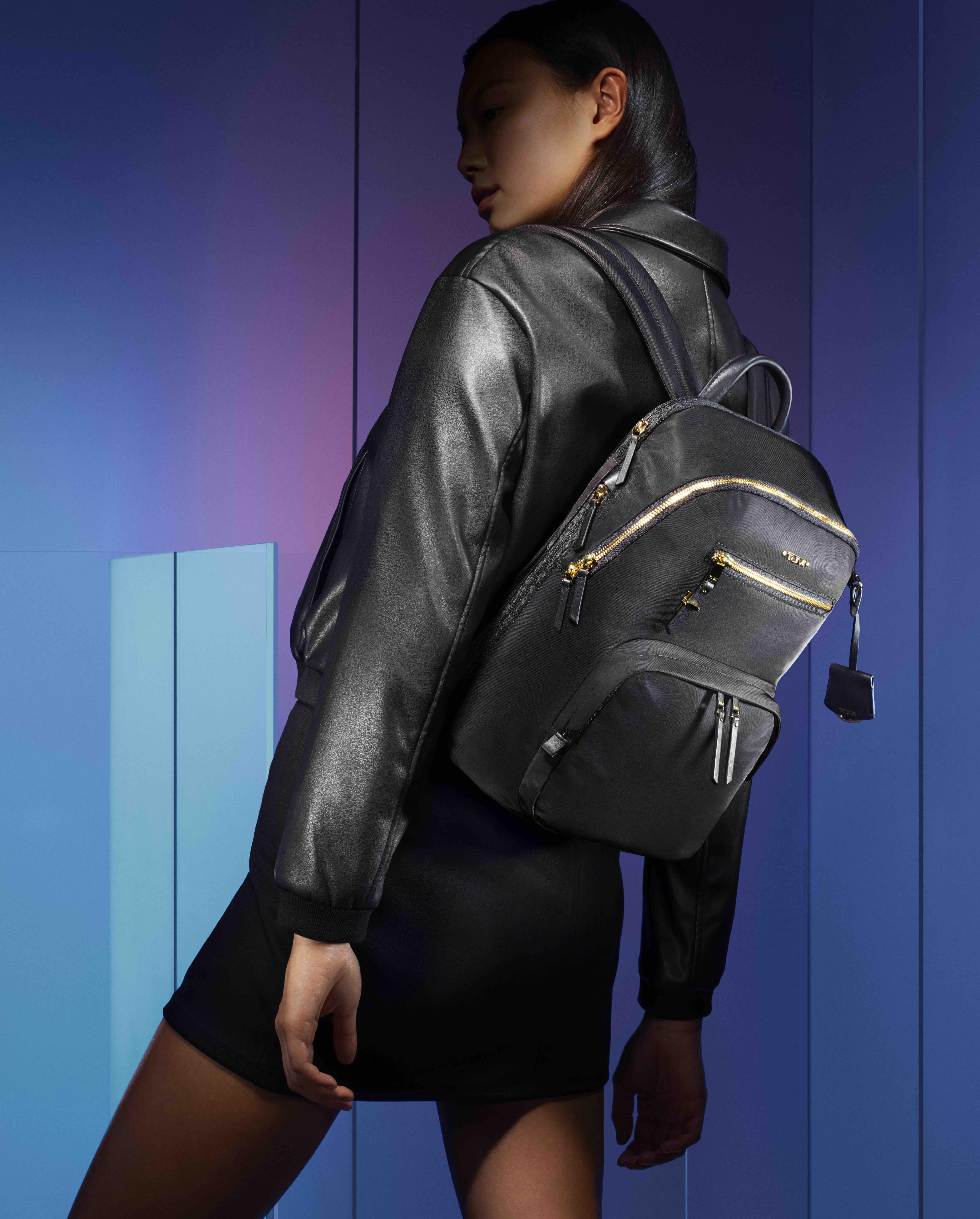 balo TUMI Voyaguer Harper Backpack màu đen
