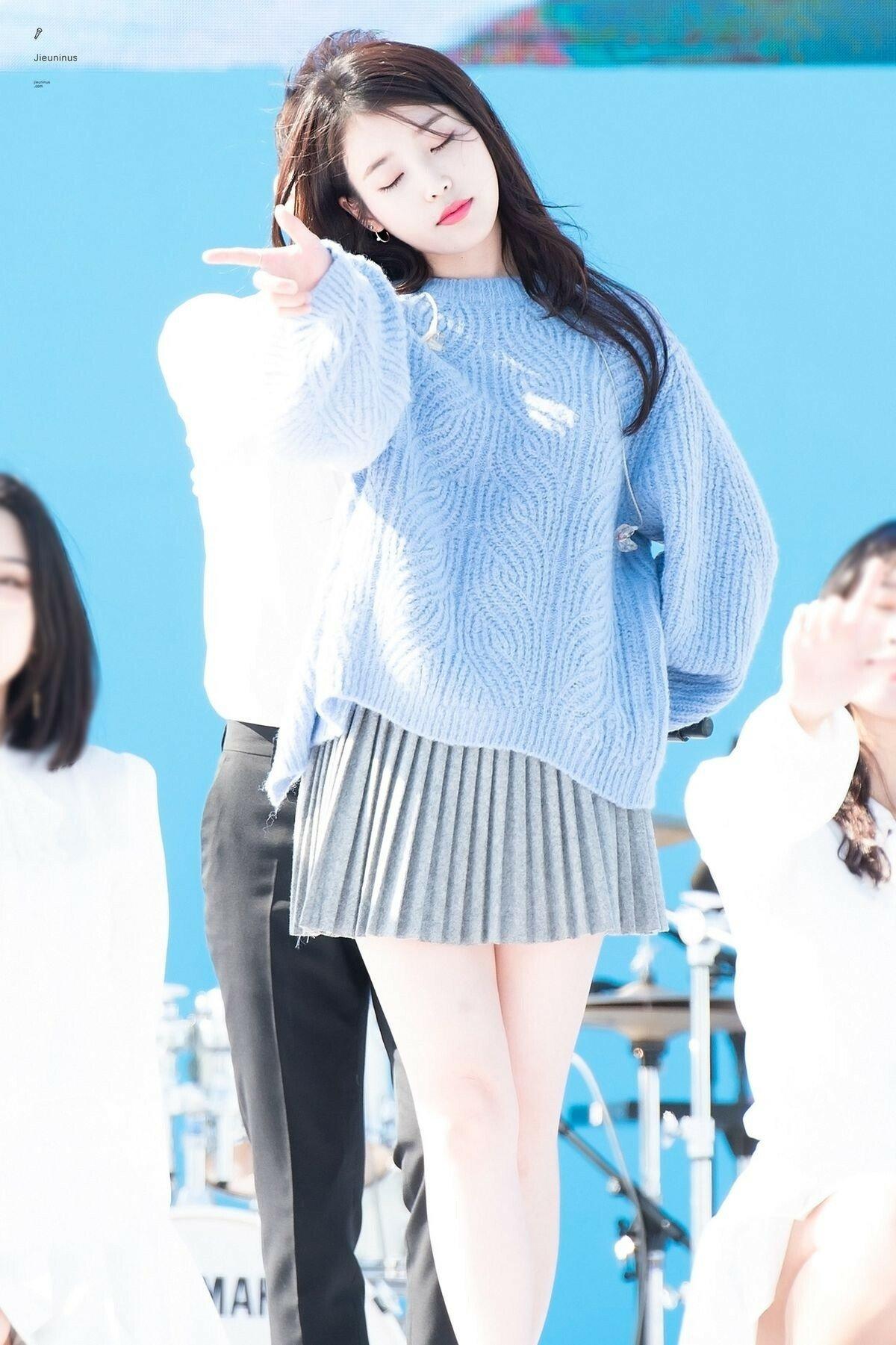 Lee Jieun trên sân khấu