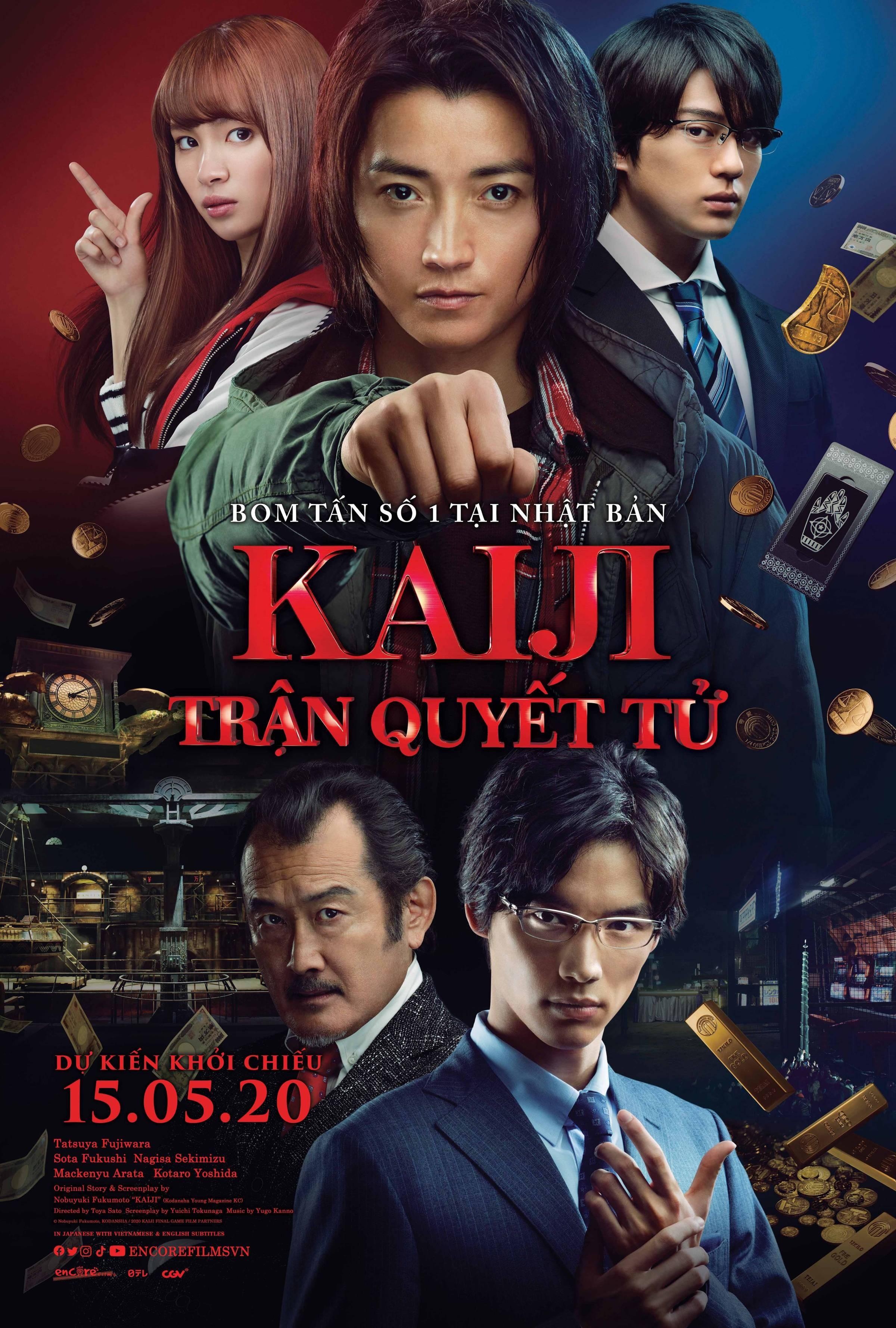 Phim chiếu rạp Kaiji Trận quyết tử