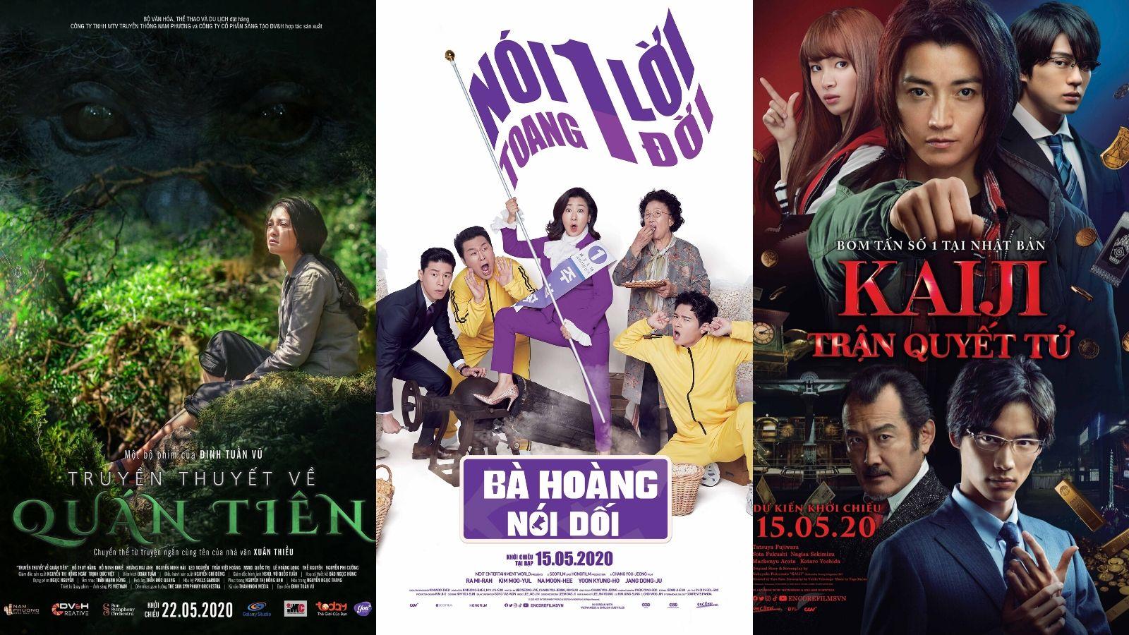 Giới thiệu phim chiếu rạp tháng 5/2020