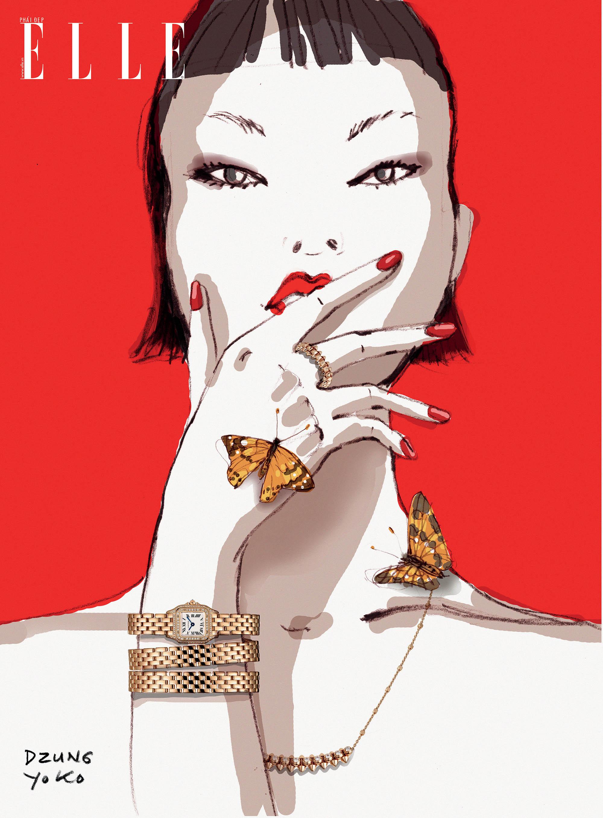 thời trang đồng hồ trang sức Cartier