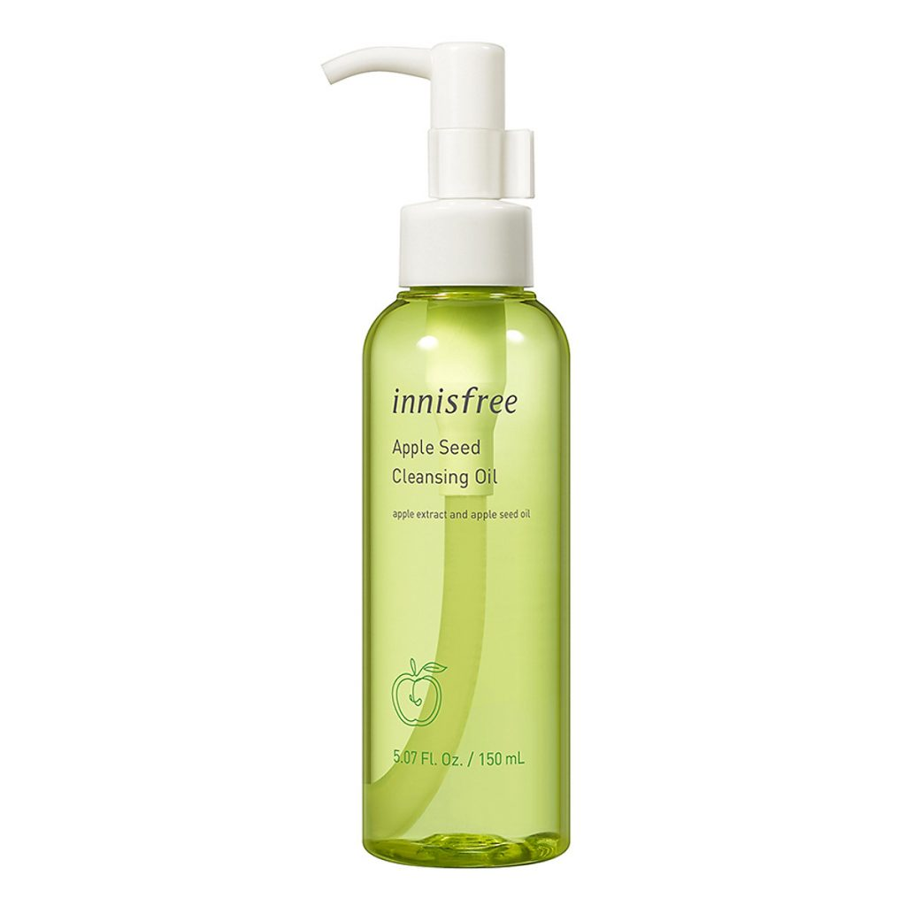 cleansing oil táo của innisfree