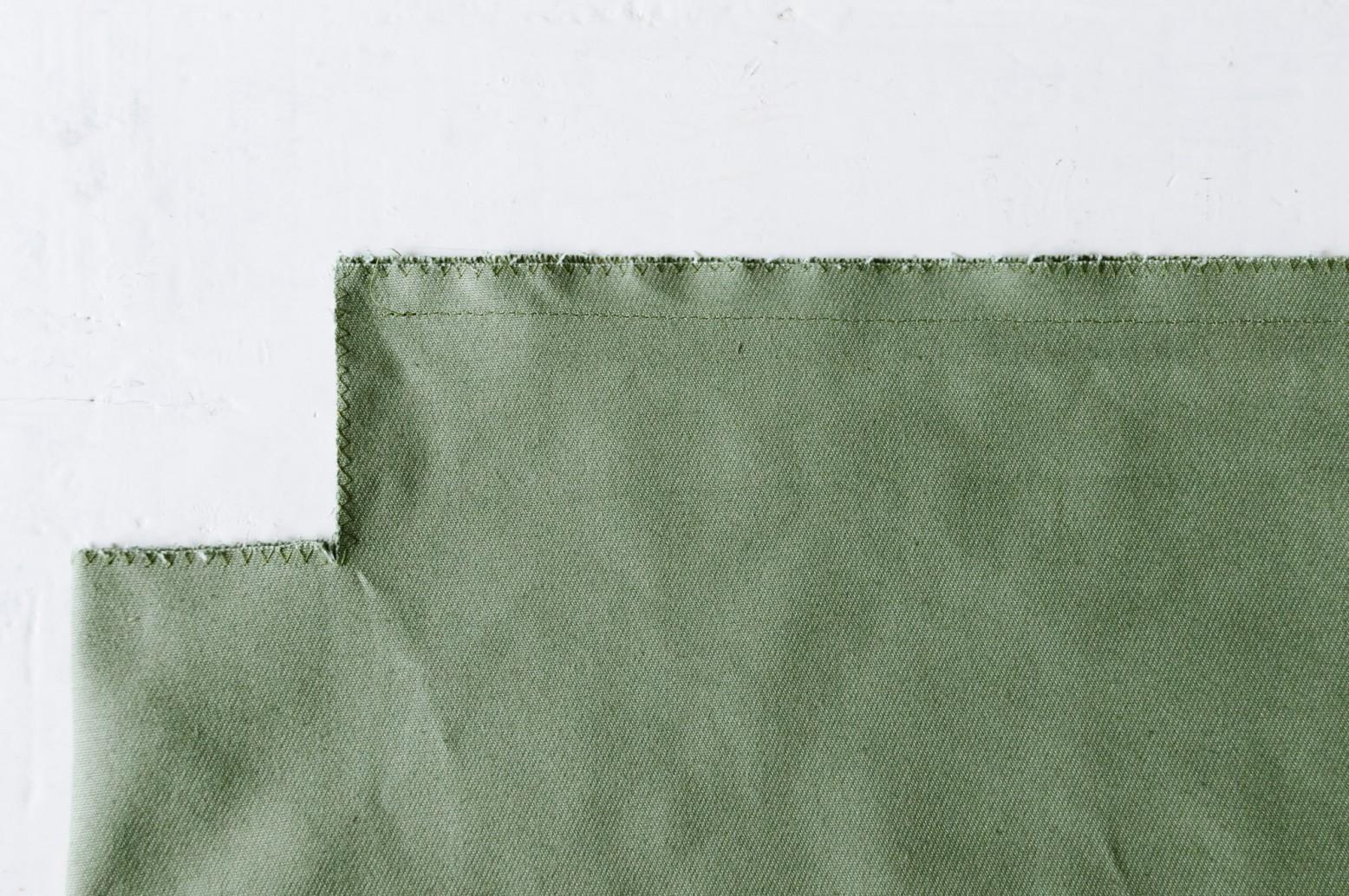 Cách may túi vải tại nhà - khâu mép vải
