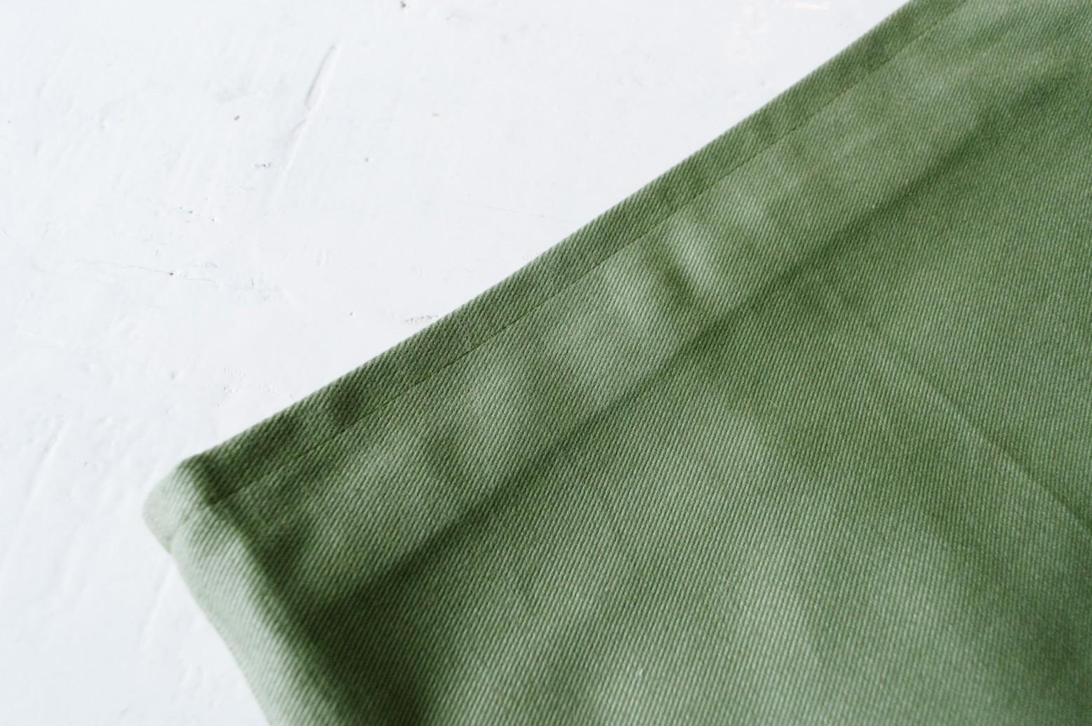 Cách may túi vải tại nhà - viền miệng túi