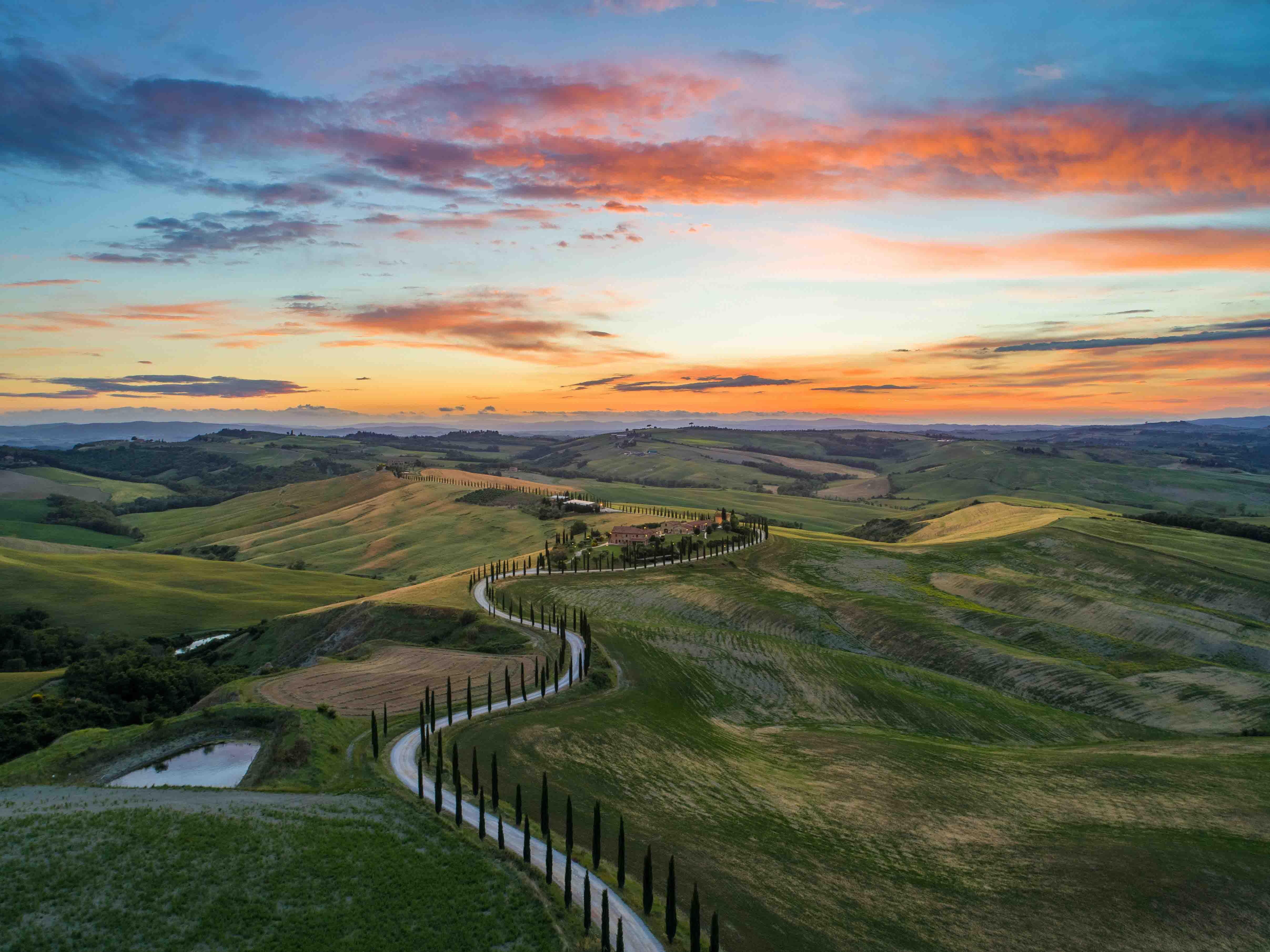 điểm đến Tuscany
