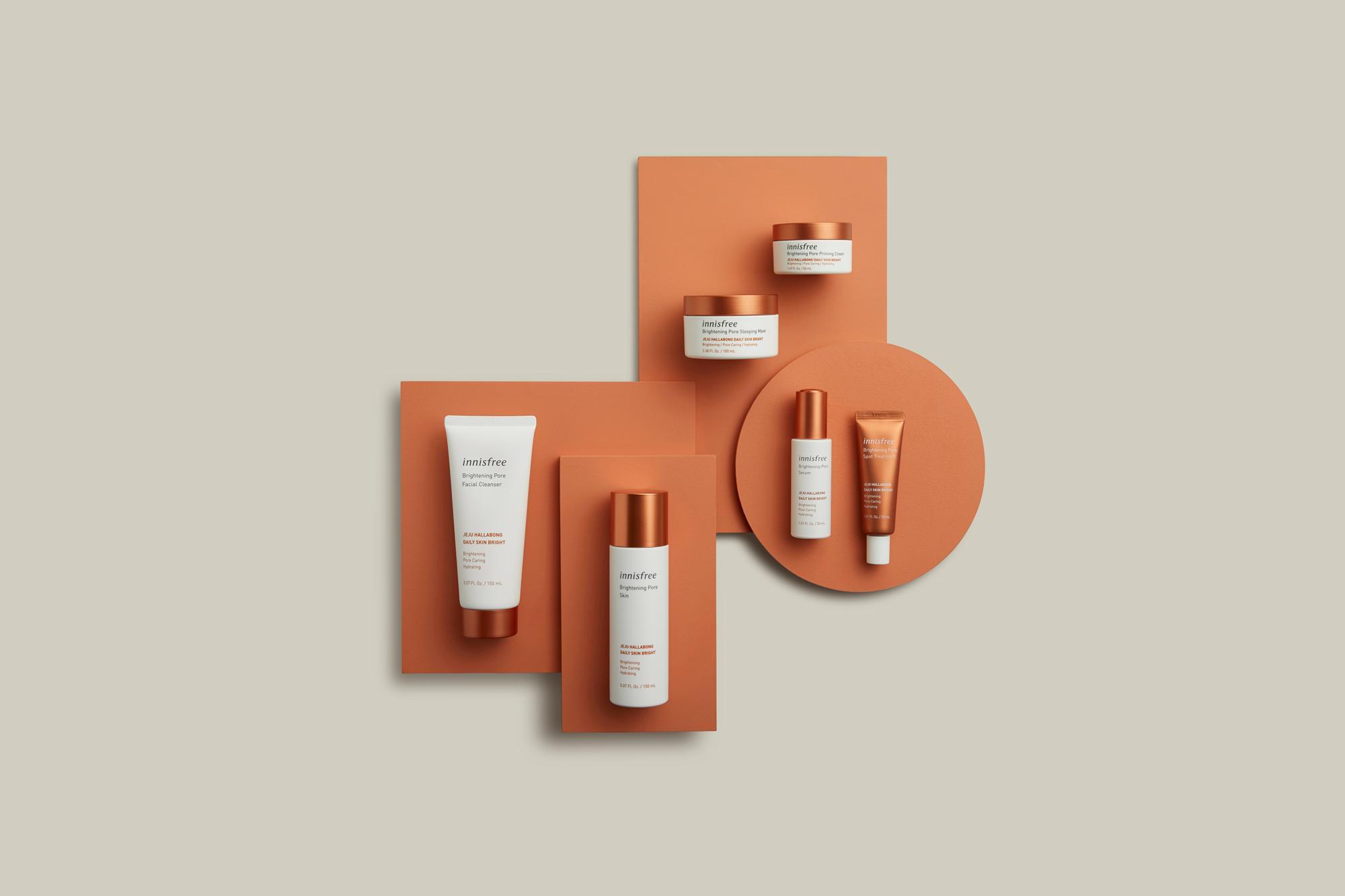 Bộ sản phẩm dưỡng da innisfree Brightening Pore