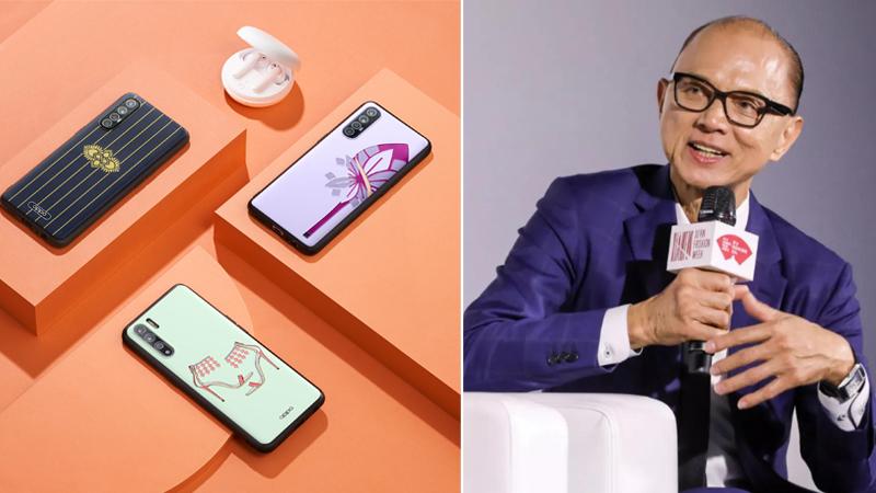 prok jimmy choo OBE thiết kế ốp lưng điện thoại OPPO Reno3