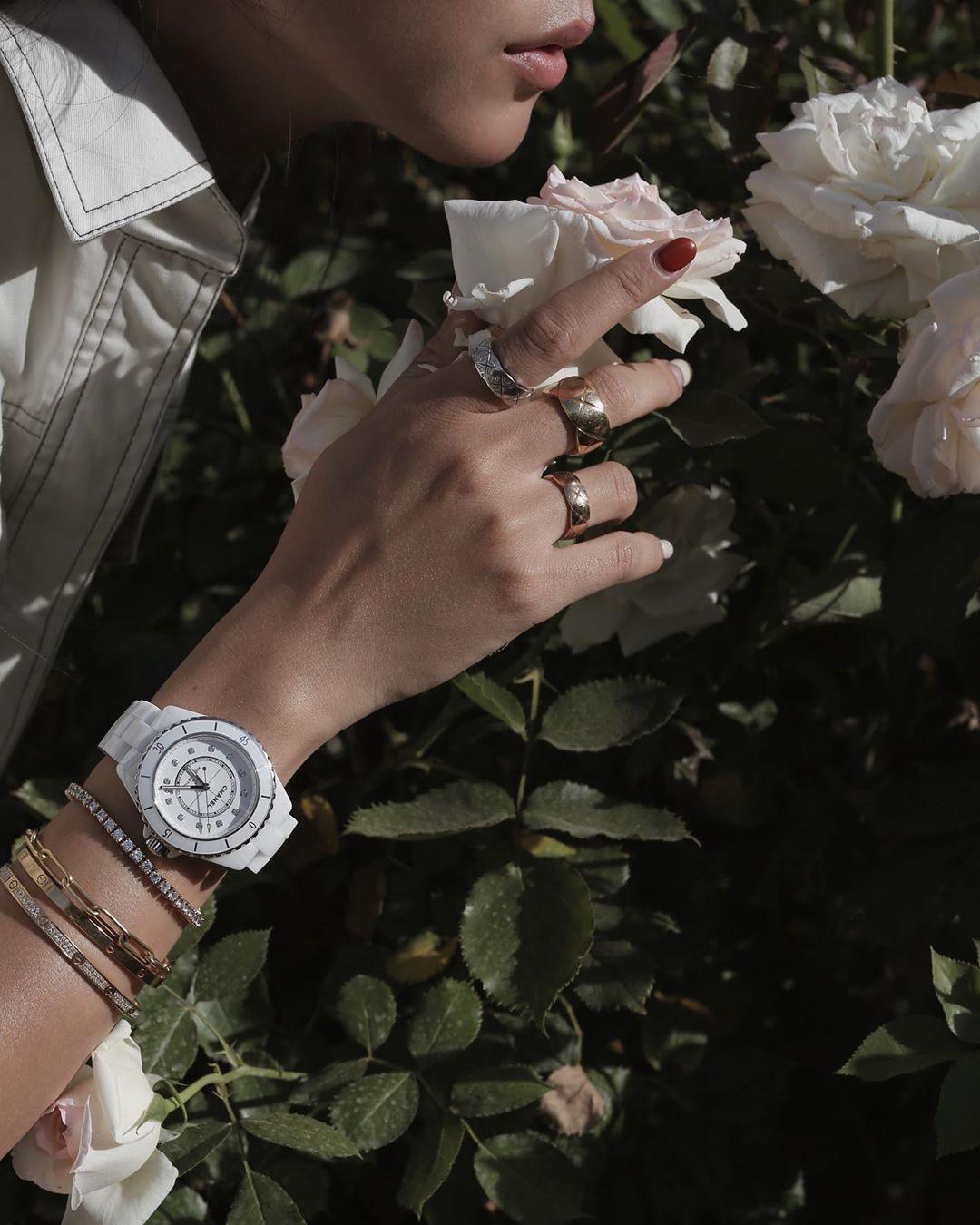 Thời trang cung Song Tử - bộ sưu tập trang sức gồm vòng đeo tay, đồng hồ và nhẫn