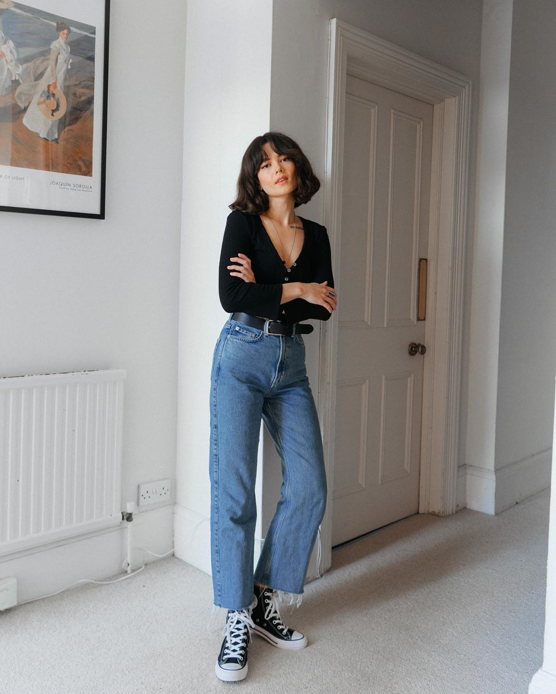 bí quyết mua sắm quần jeans cho dáng người nhỏ petite chloe miles