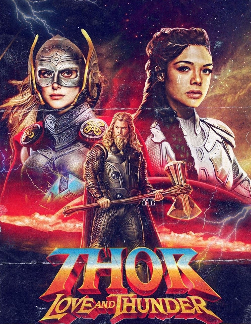 thor love and thunder phim marvel
