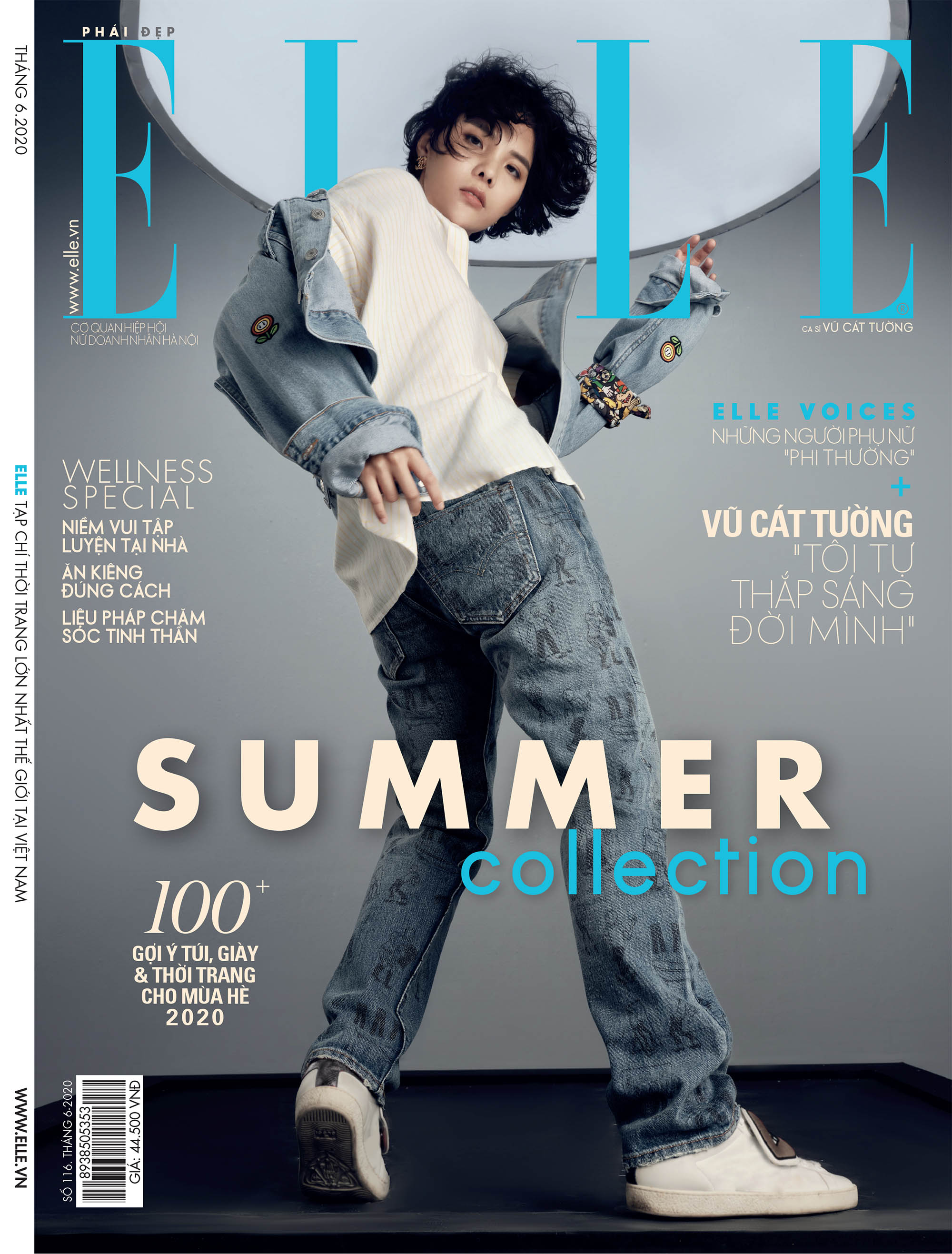 tạp chí phái đẹp ELLE tháng 6/2020
